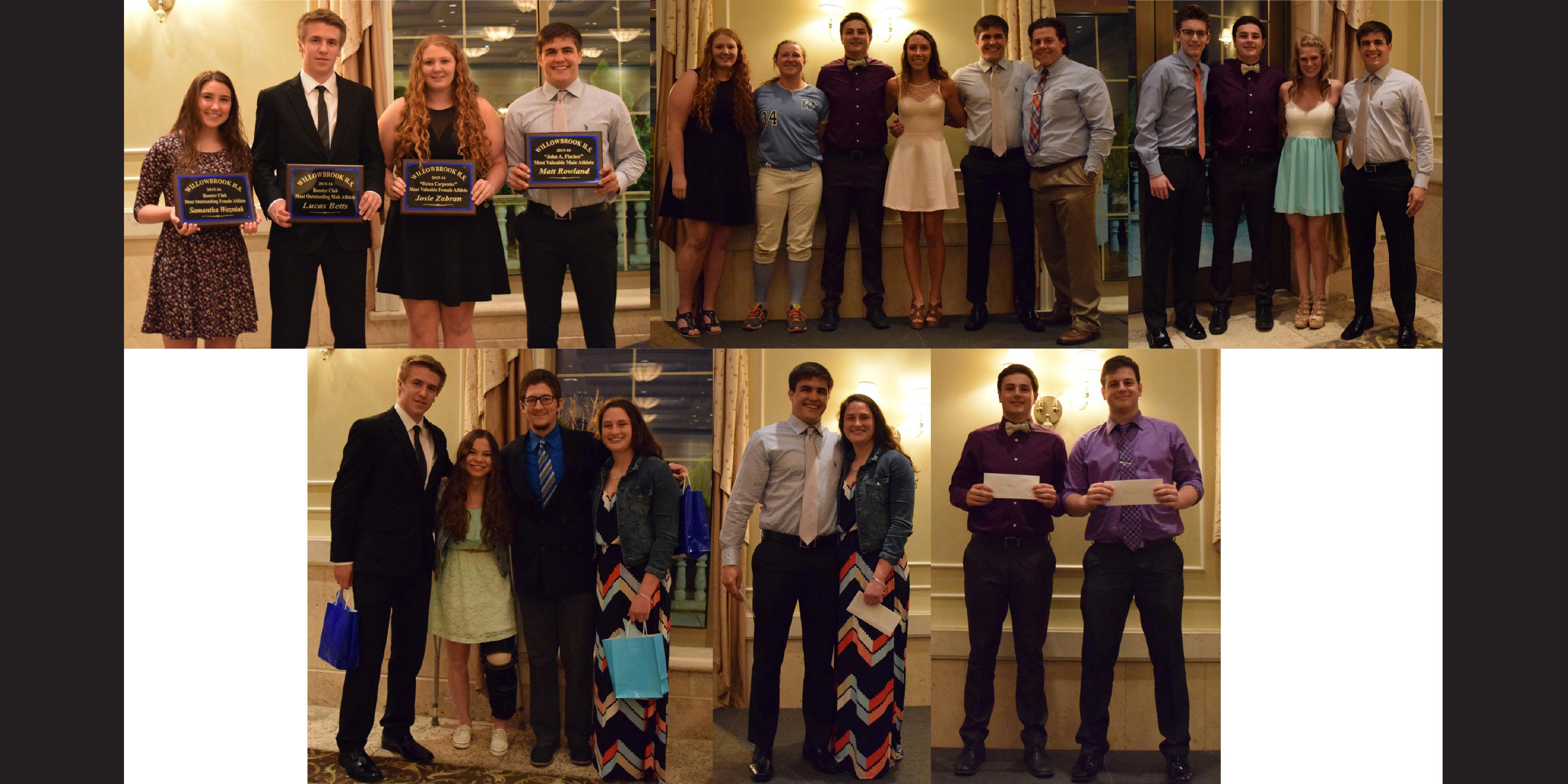 Willowbrook Athletic Booster Club hosts annual Senior Athletic Banquet