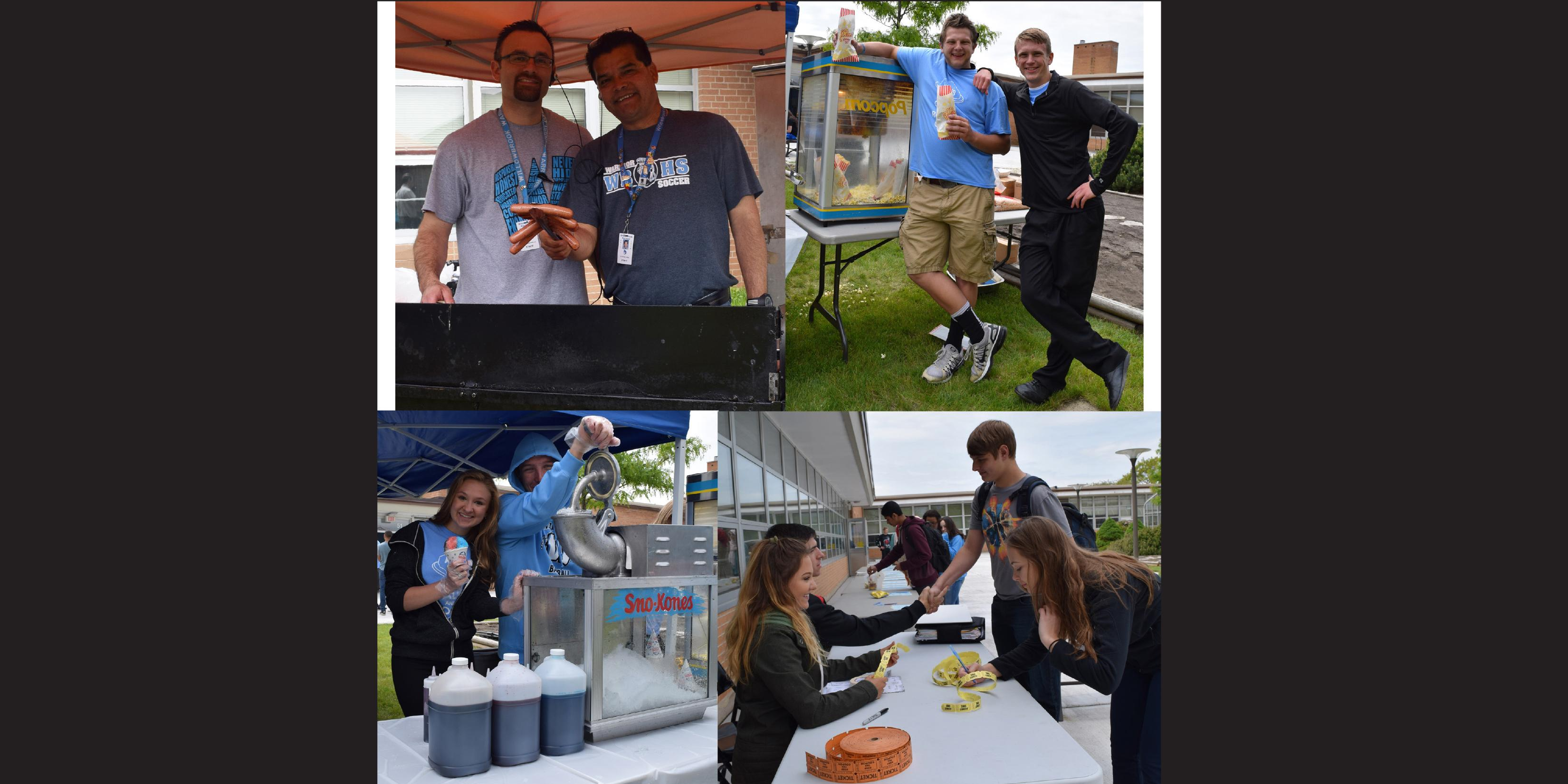 Willowbrook PBIS team hosts annual end-of-year barbecue