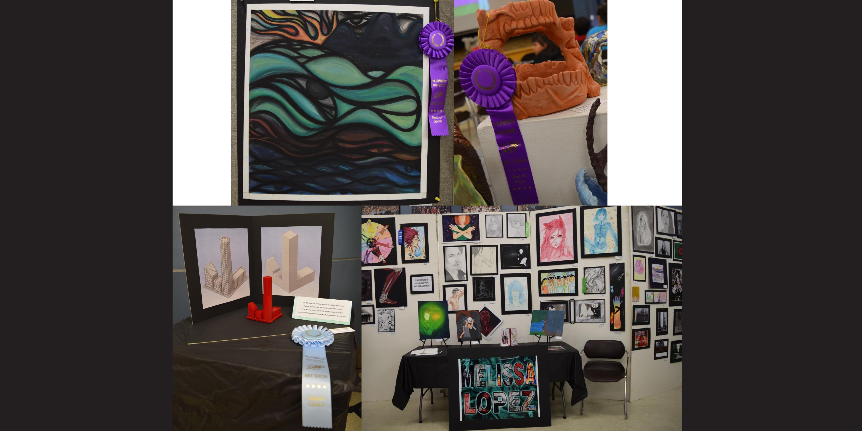 Willowbrook celebrates Student Art Show and release party for literary magazine, 'Mindprints'