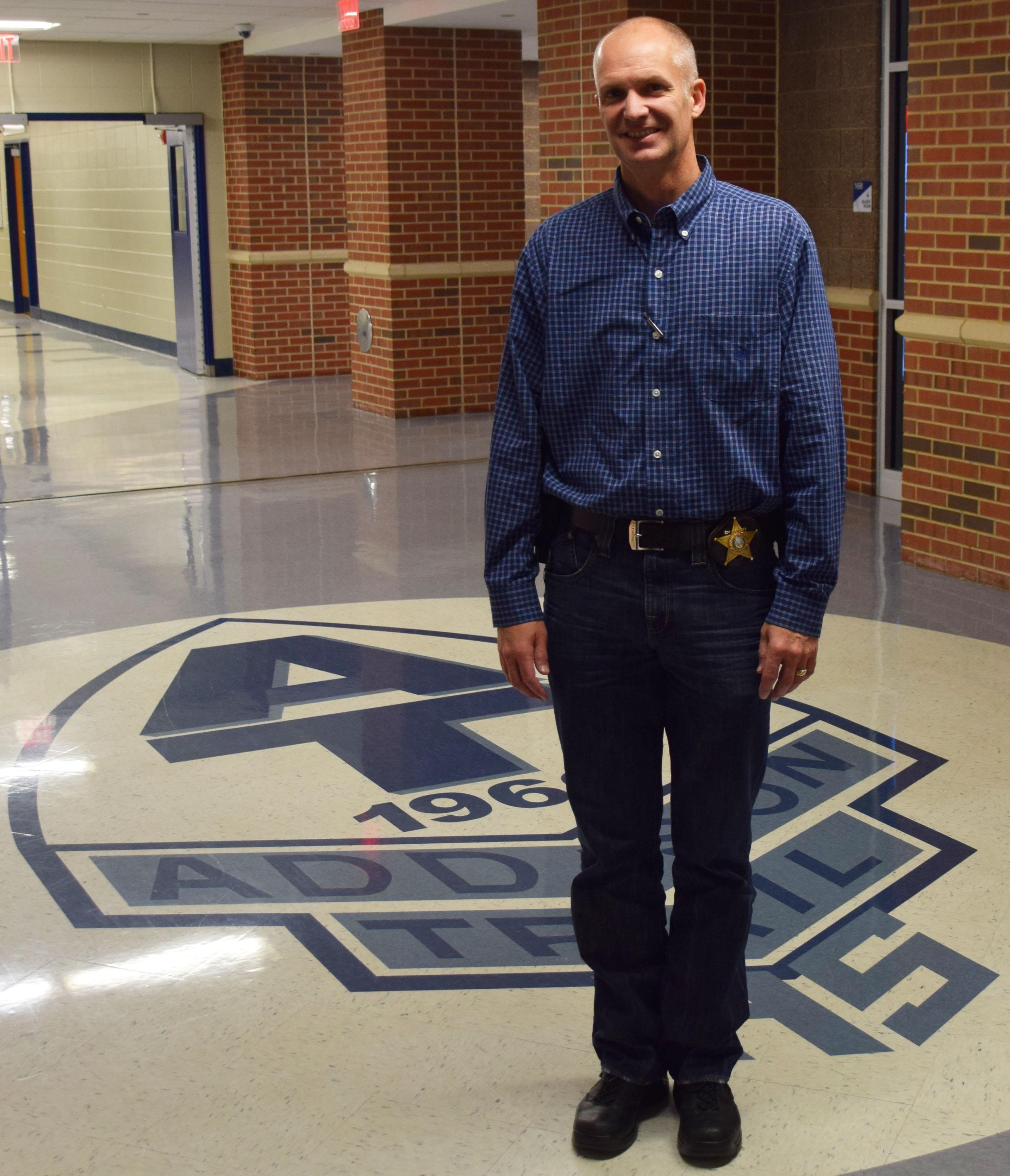 Addison Trail welcomes new School Resource Officer