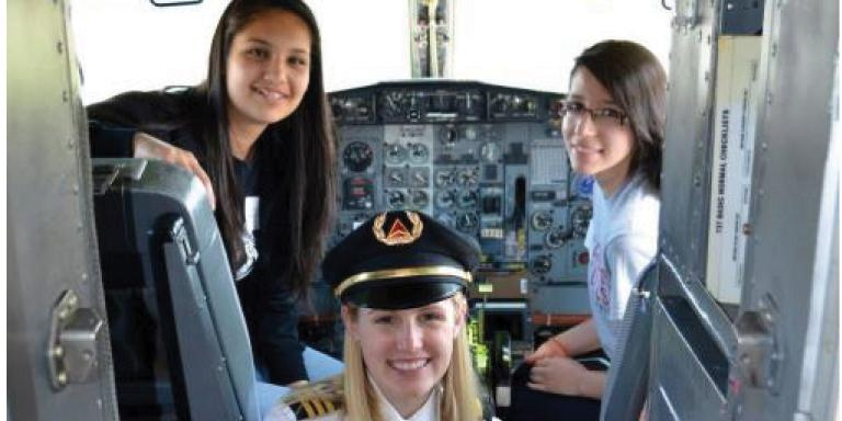 Middle and high school girls invited to attend aviation event