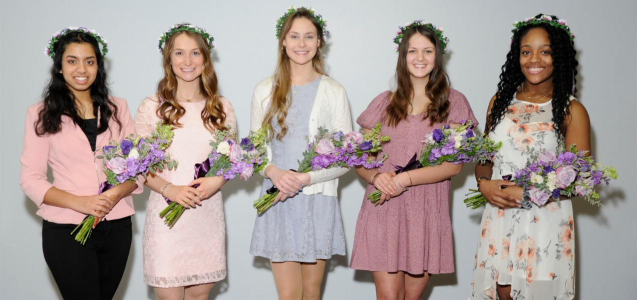 Three Willowbrook seniors named to Lilac Court
