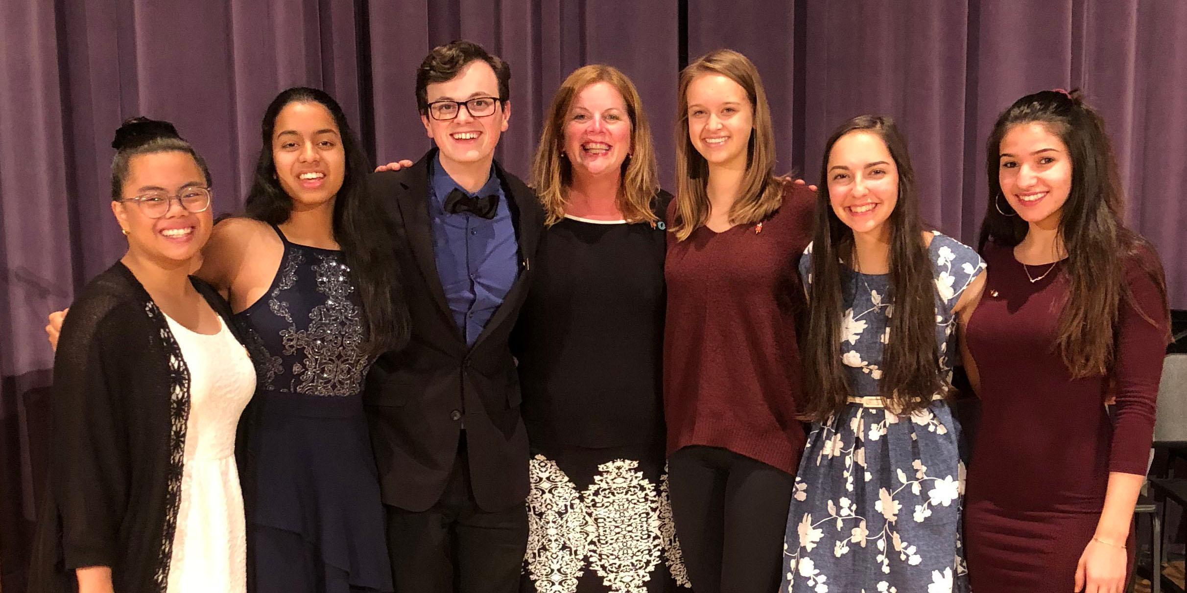 Willowbrook hosts Tri-M Honor Society induction ceremony