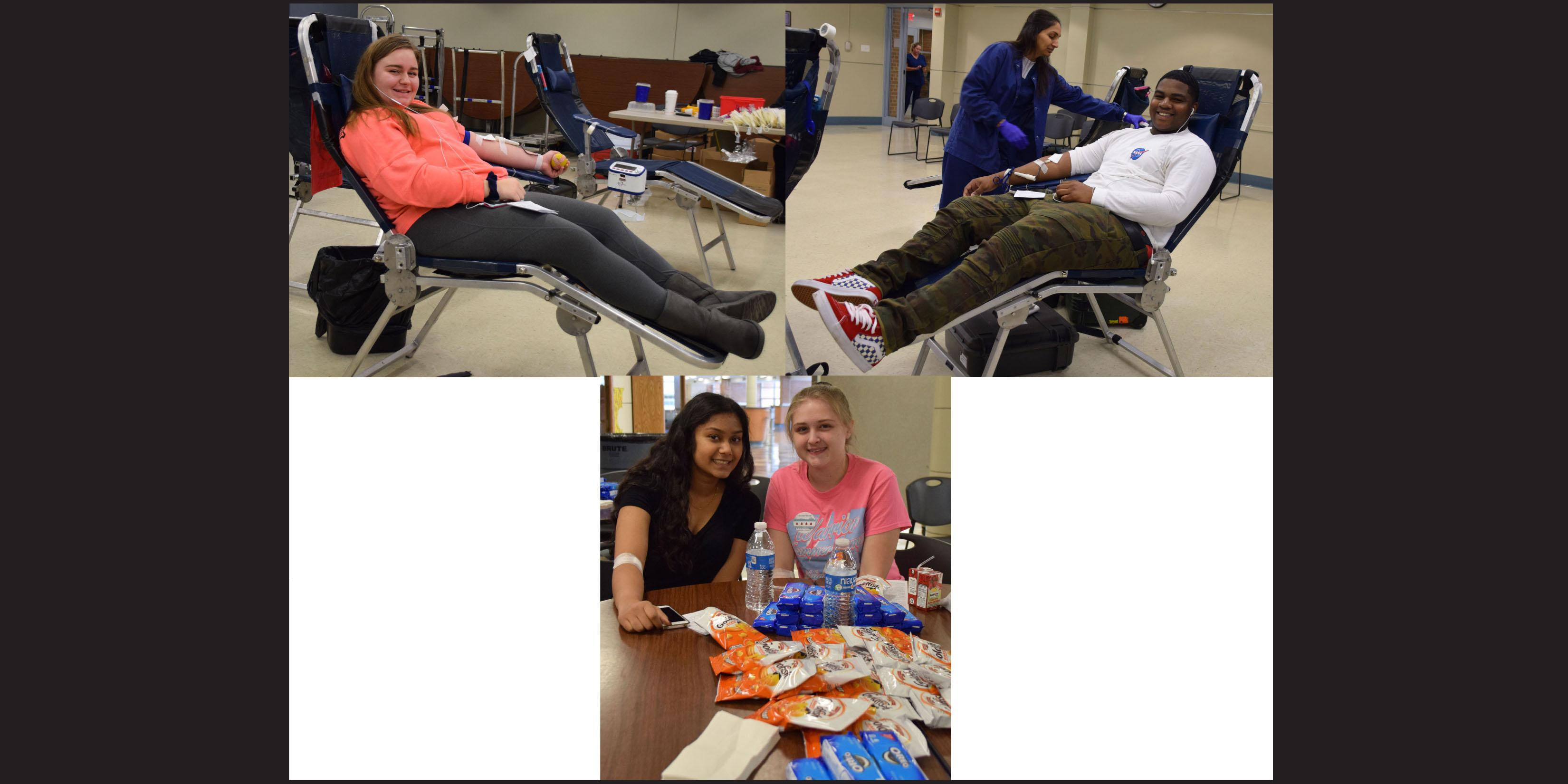 Willowbrook Student Council hosts blood drive for Vitalant