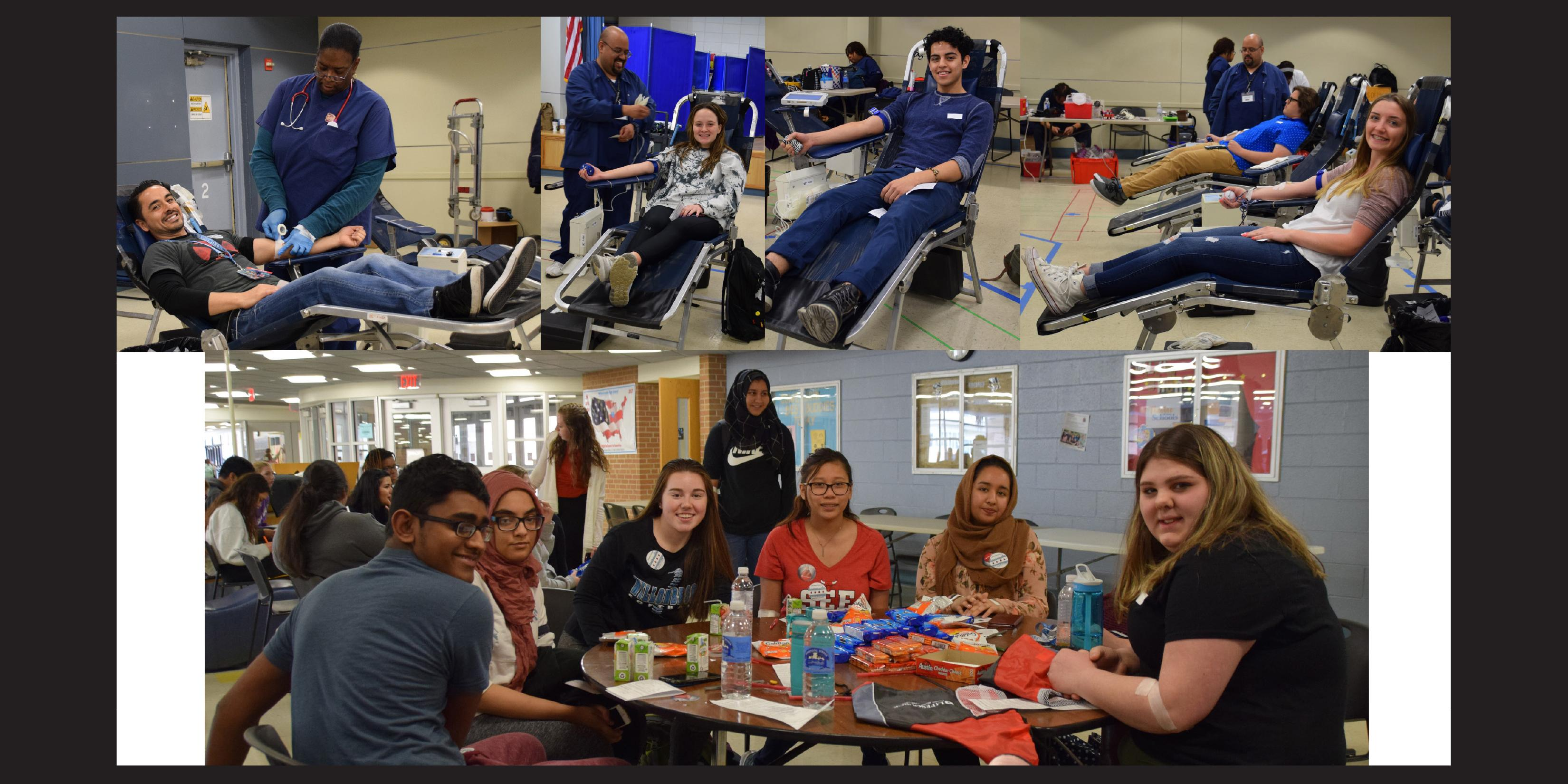 Willowbrook Student Council hosts blood drive for LifeSource