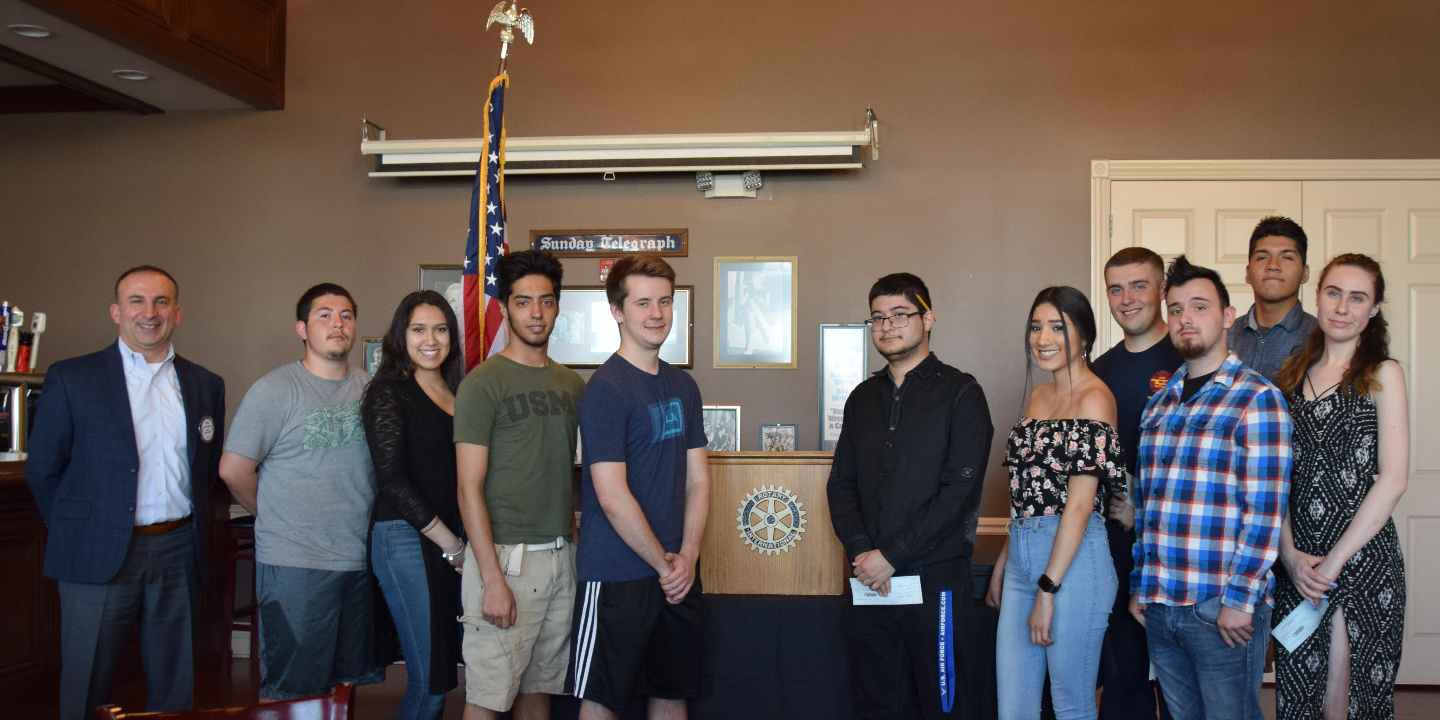 Rotary Club of Villa Park provides scholarships to District 88 students