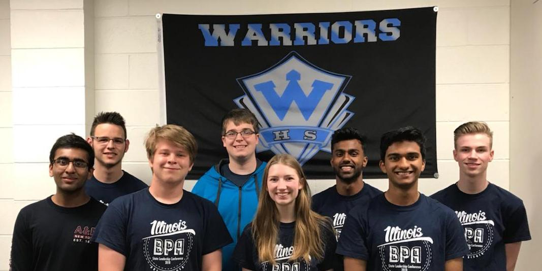 Willowbrook hosts send-off celebration for eight students who competed in BPA National Leadership Conference