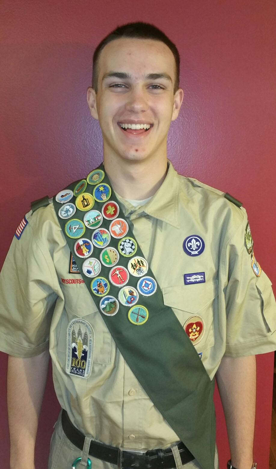Willowbrook senior earns Eagle Scout status