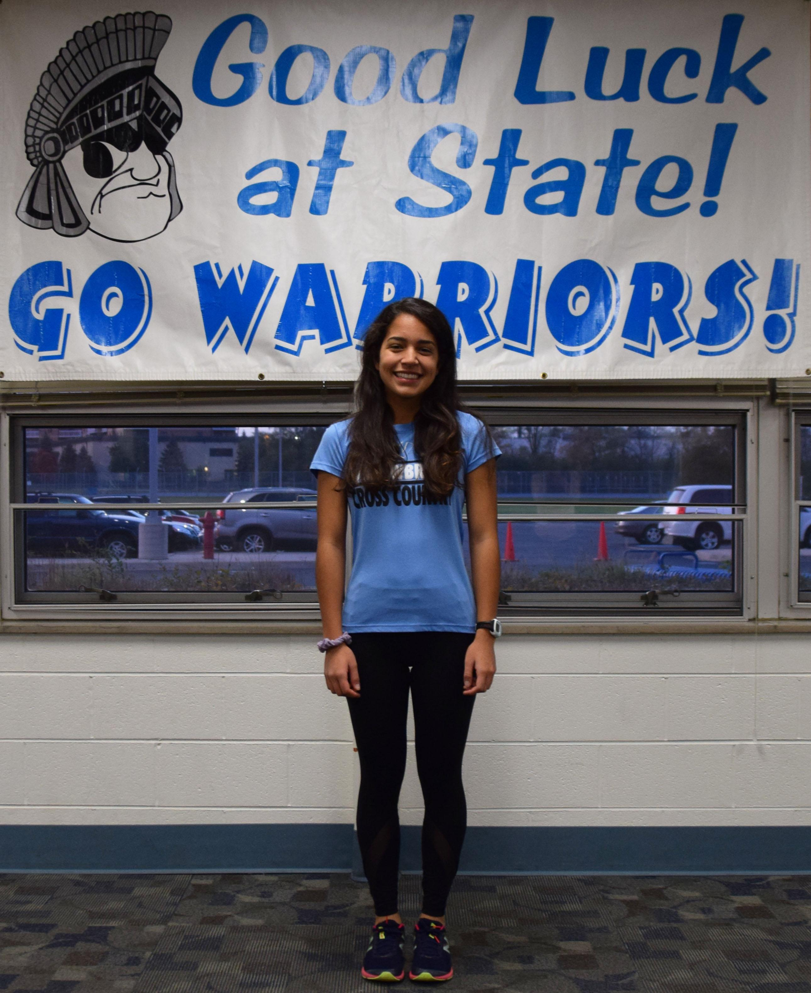 Willowbrook hosts State send-off celebration for member of Girls Cross-Country Team