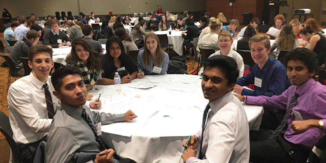 Nine Willowbrook students participate in Student Leadership Academy