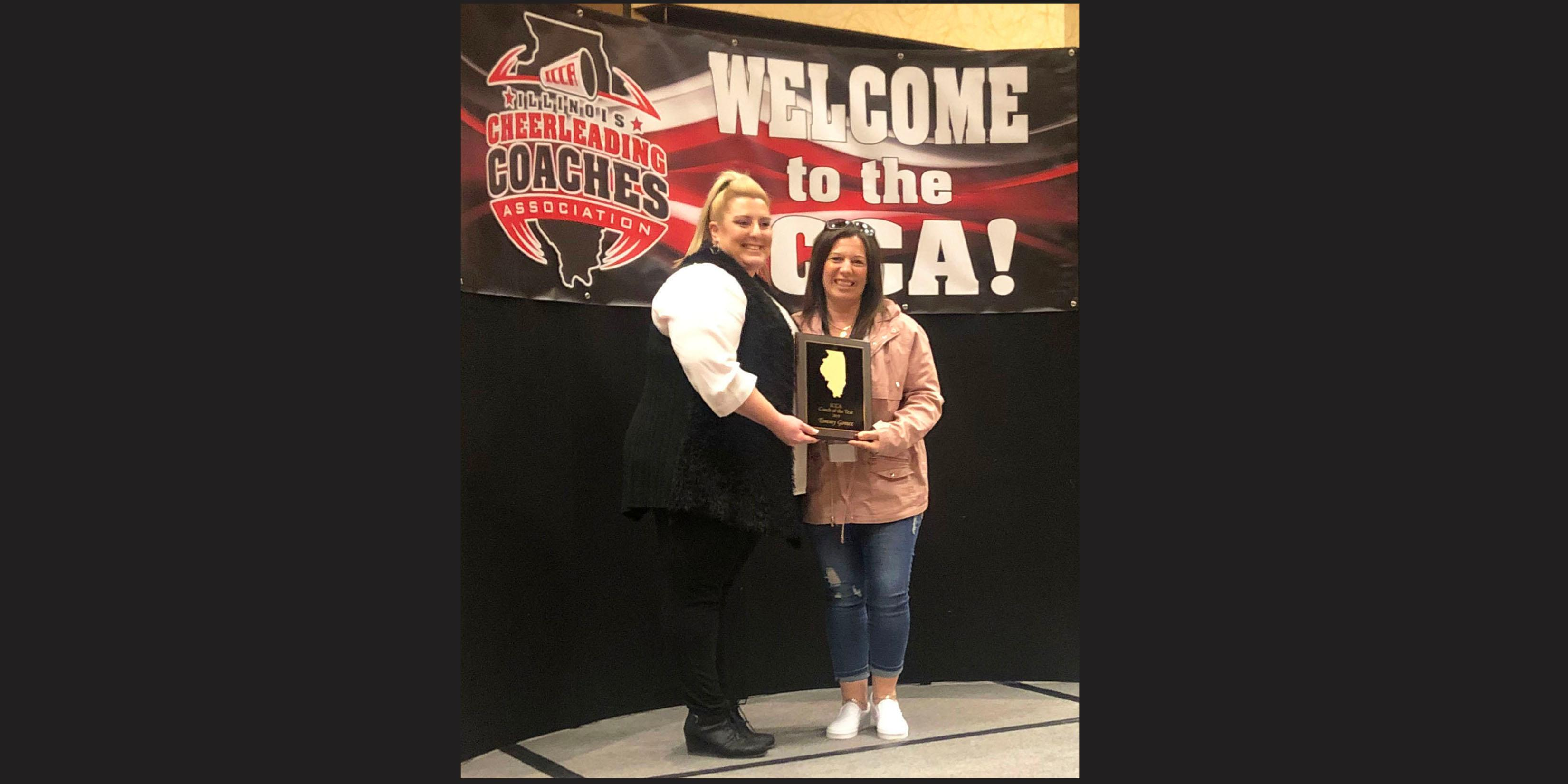 Addison Trail cheerleading coach named ICCA Coach of the Year