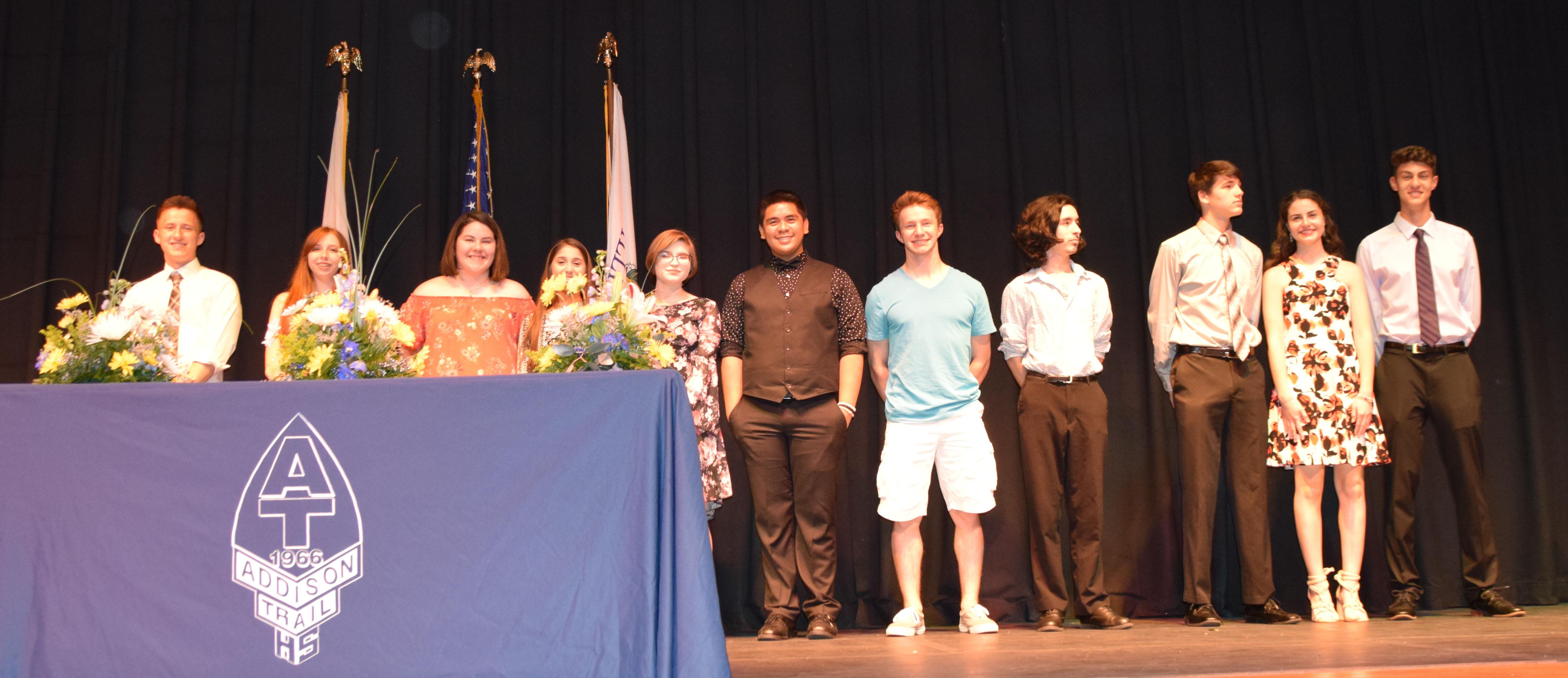 Addison Trail hosts annual Senior Awards Night