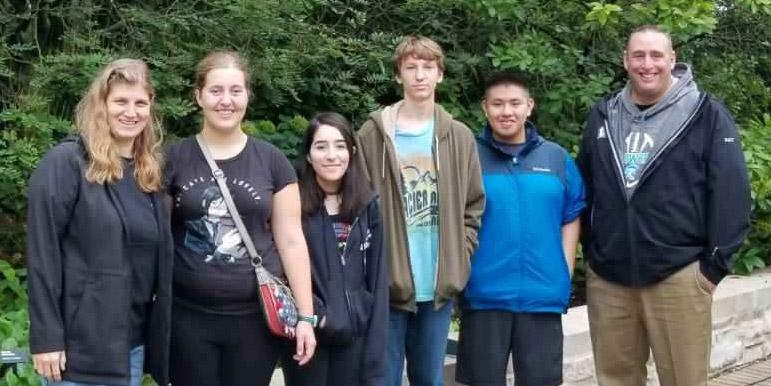 Addison Trail and Willowbrook students participate in West Suburban Conference workshop at The Morton Arboretum