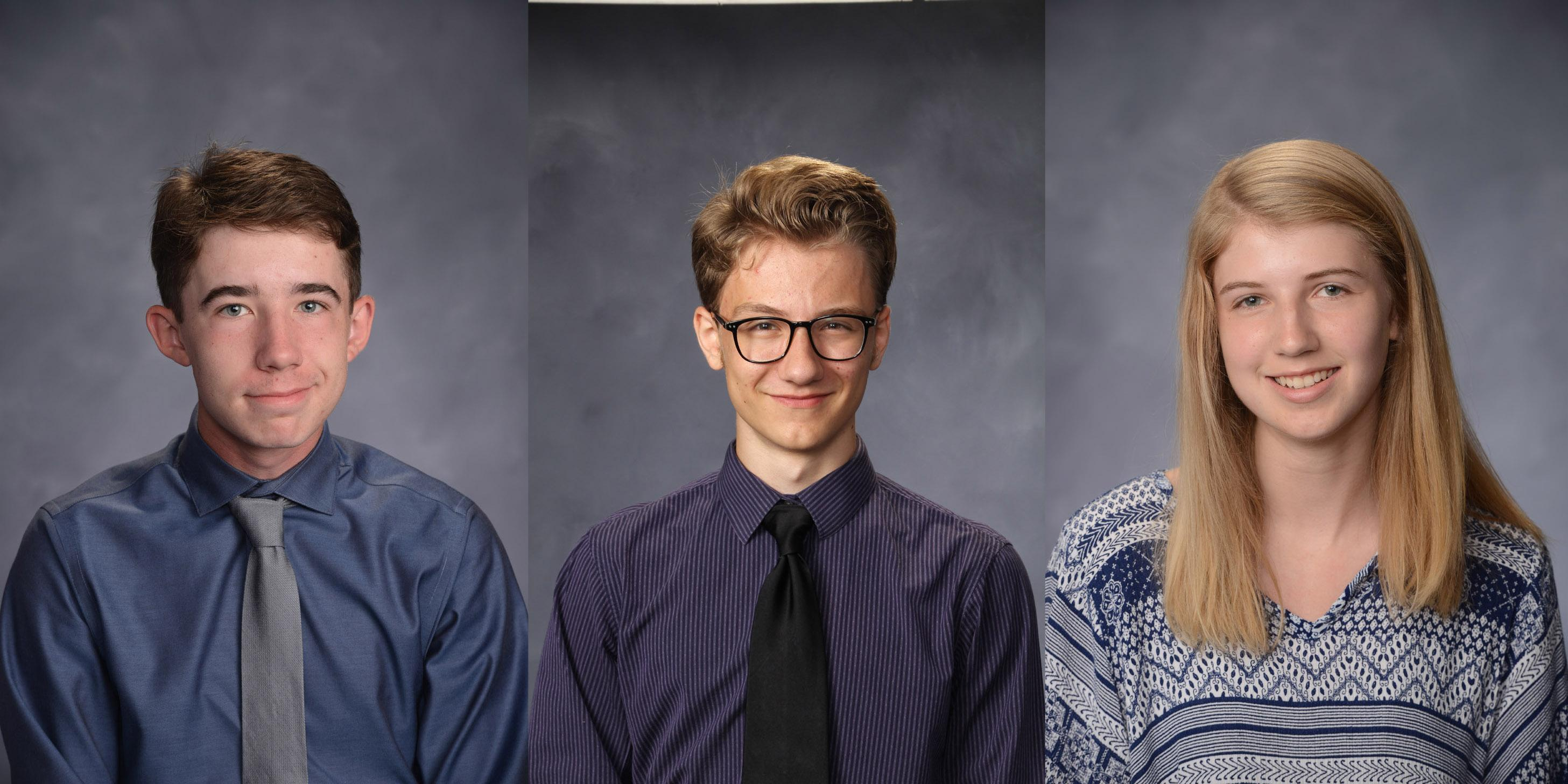 Three Willowbrook seniors named as semifinalists in 2019 National Merit Scholarship Program