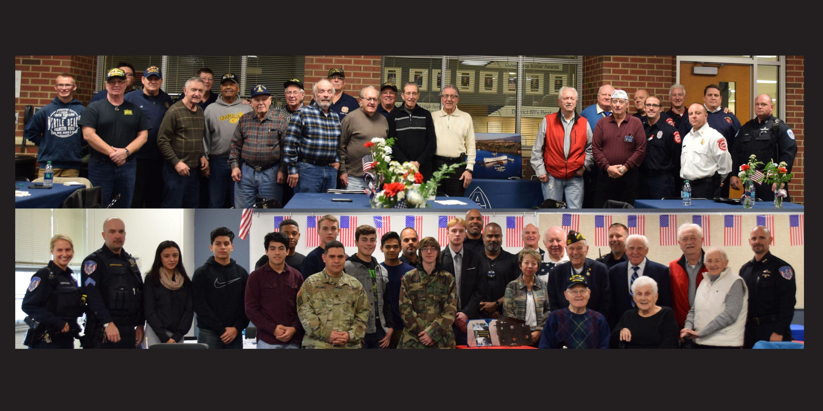 Addison Trail and Willowbrook honor veterans in recognition of Veterans Day
