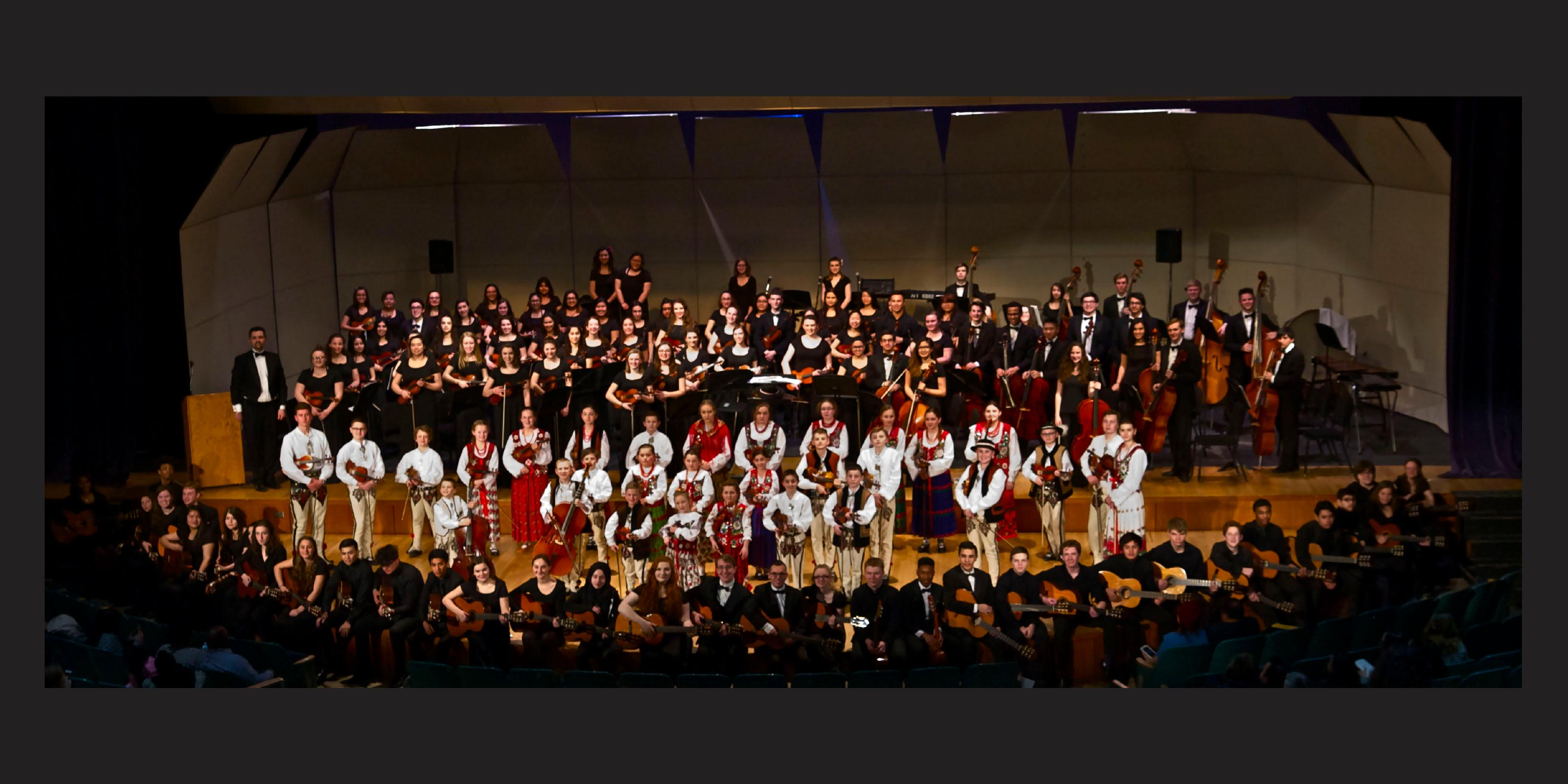 Willowbrook hosts spring Orchestra and Guitar concert, which celebrated diversity