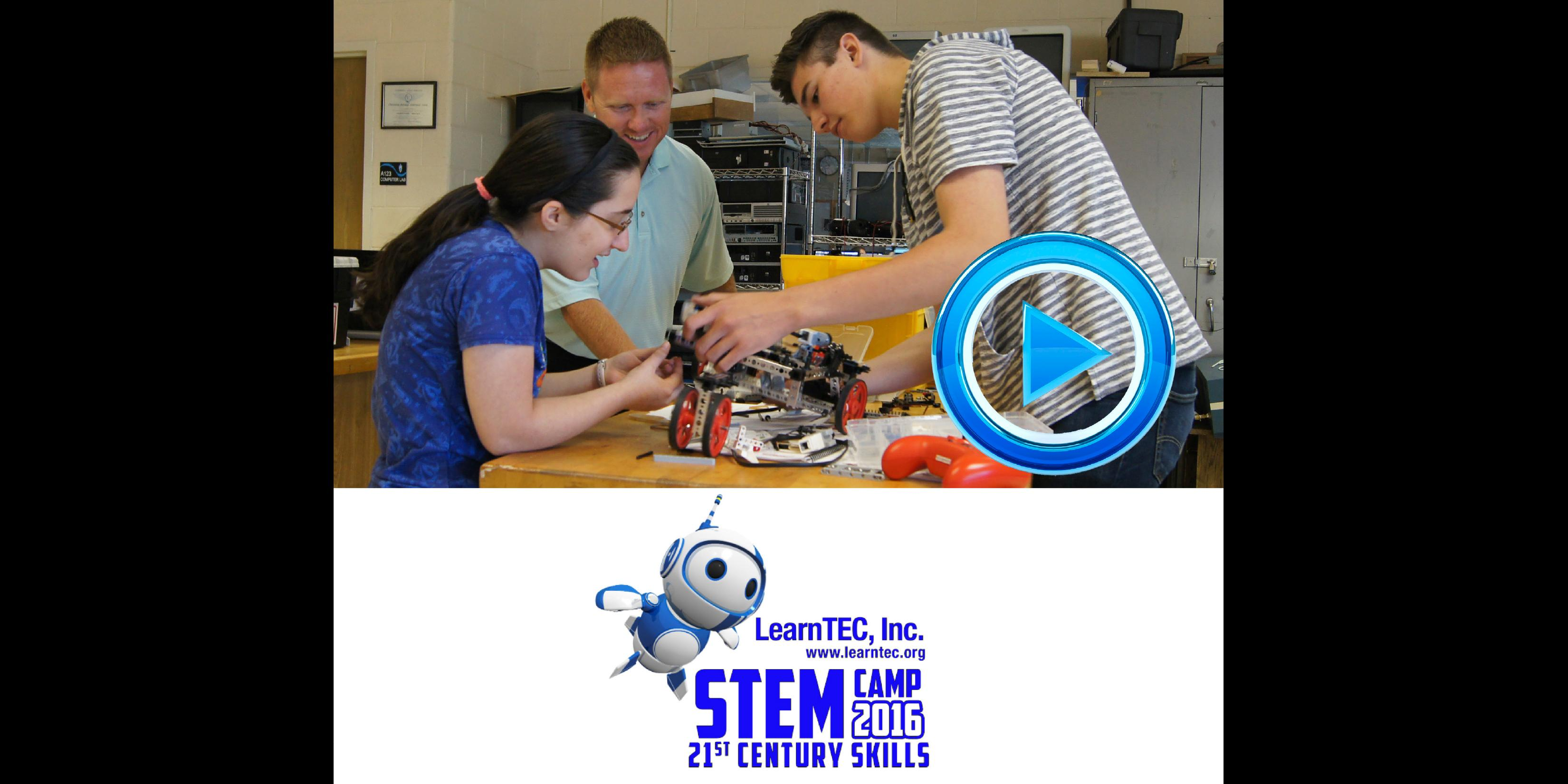 Students from school districts 88, 45 and 4 participate in a STEM camp