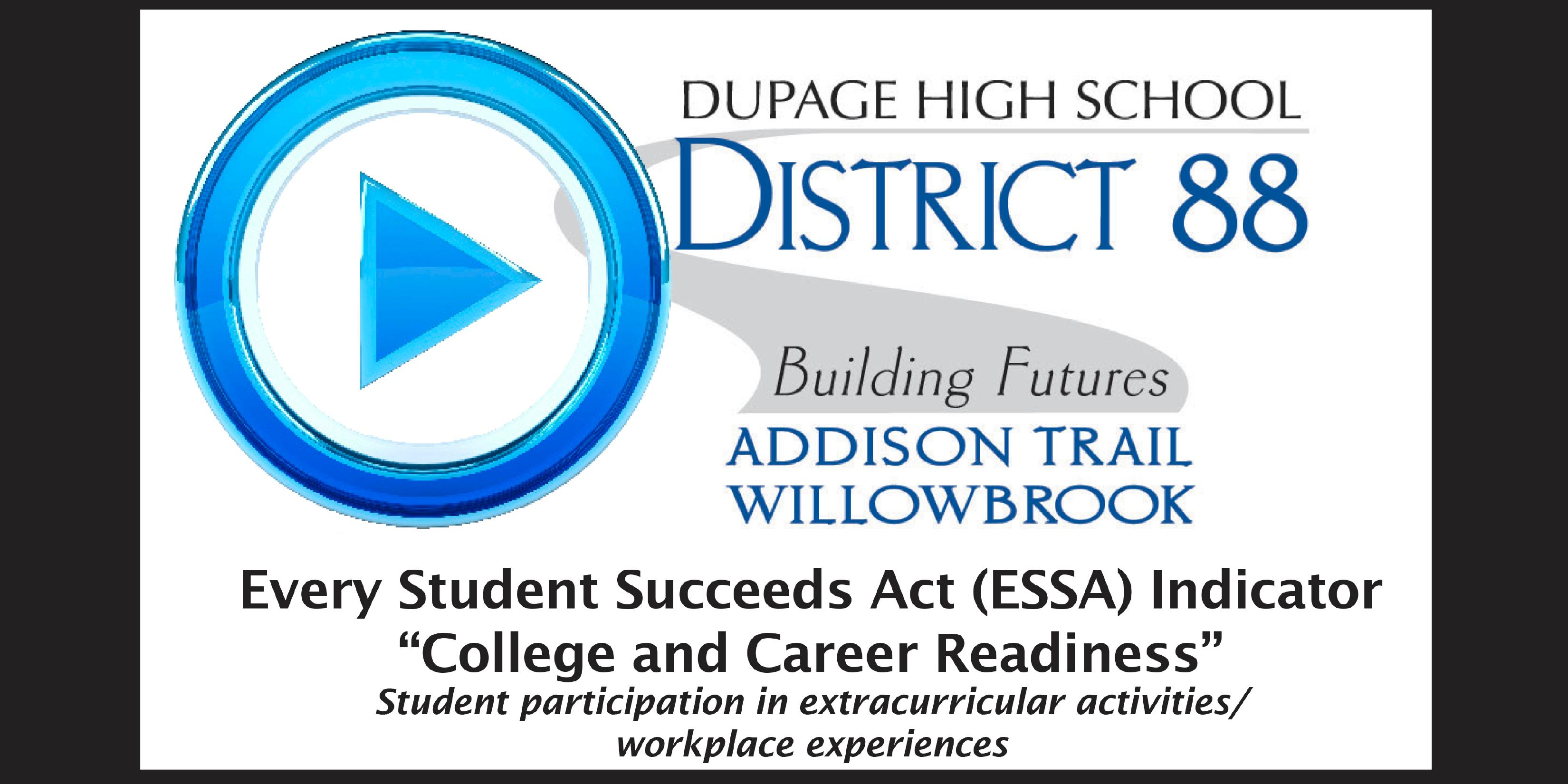 District 88 shares information about the Every Student Succeeds Act 'College and Career Readiness' Indicator