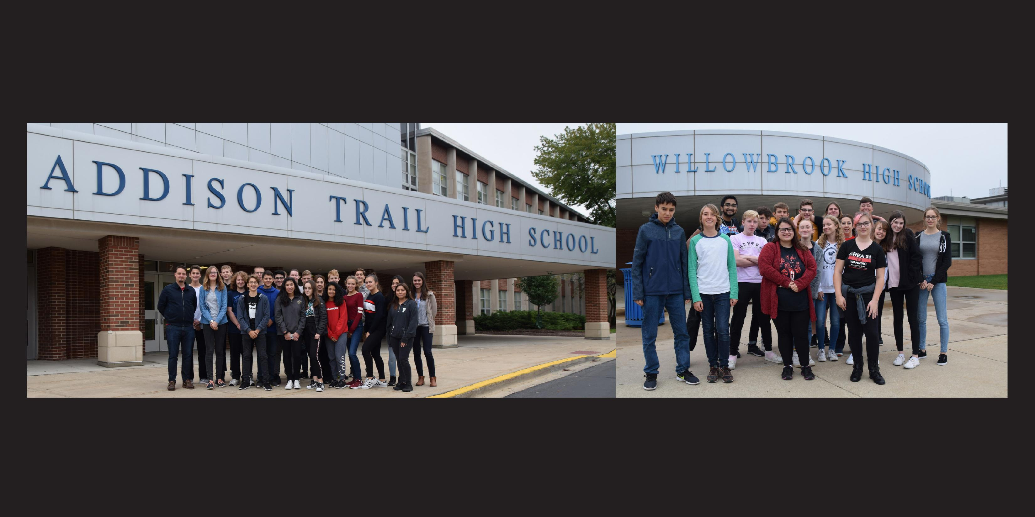 District 88 welcomes students, staff from Germany