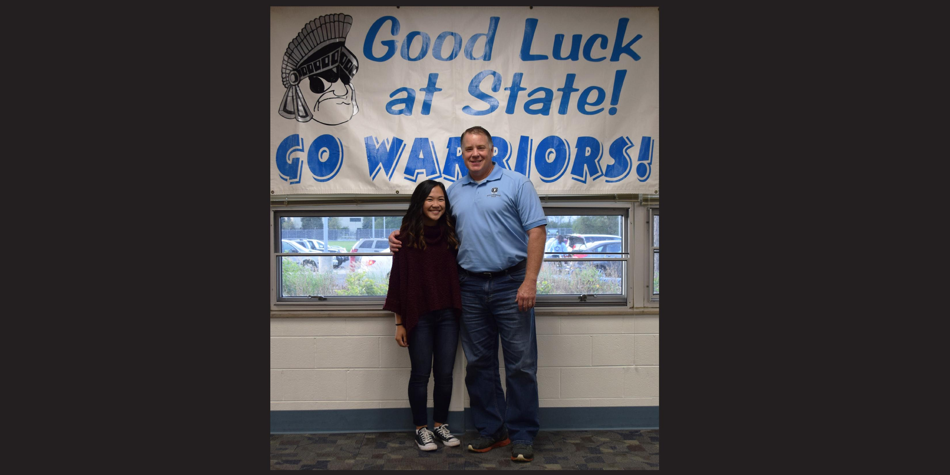 Willowbrook hosts State send-off celebration for member of Girls Golf Team