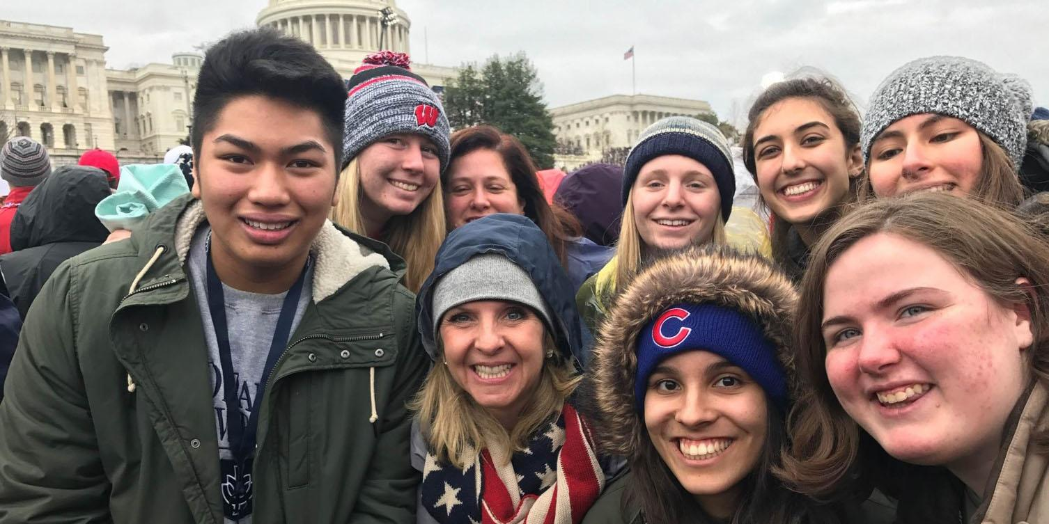 Addison Trail students learn life lessons through trip to Washington, D.C.