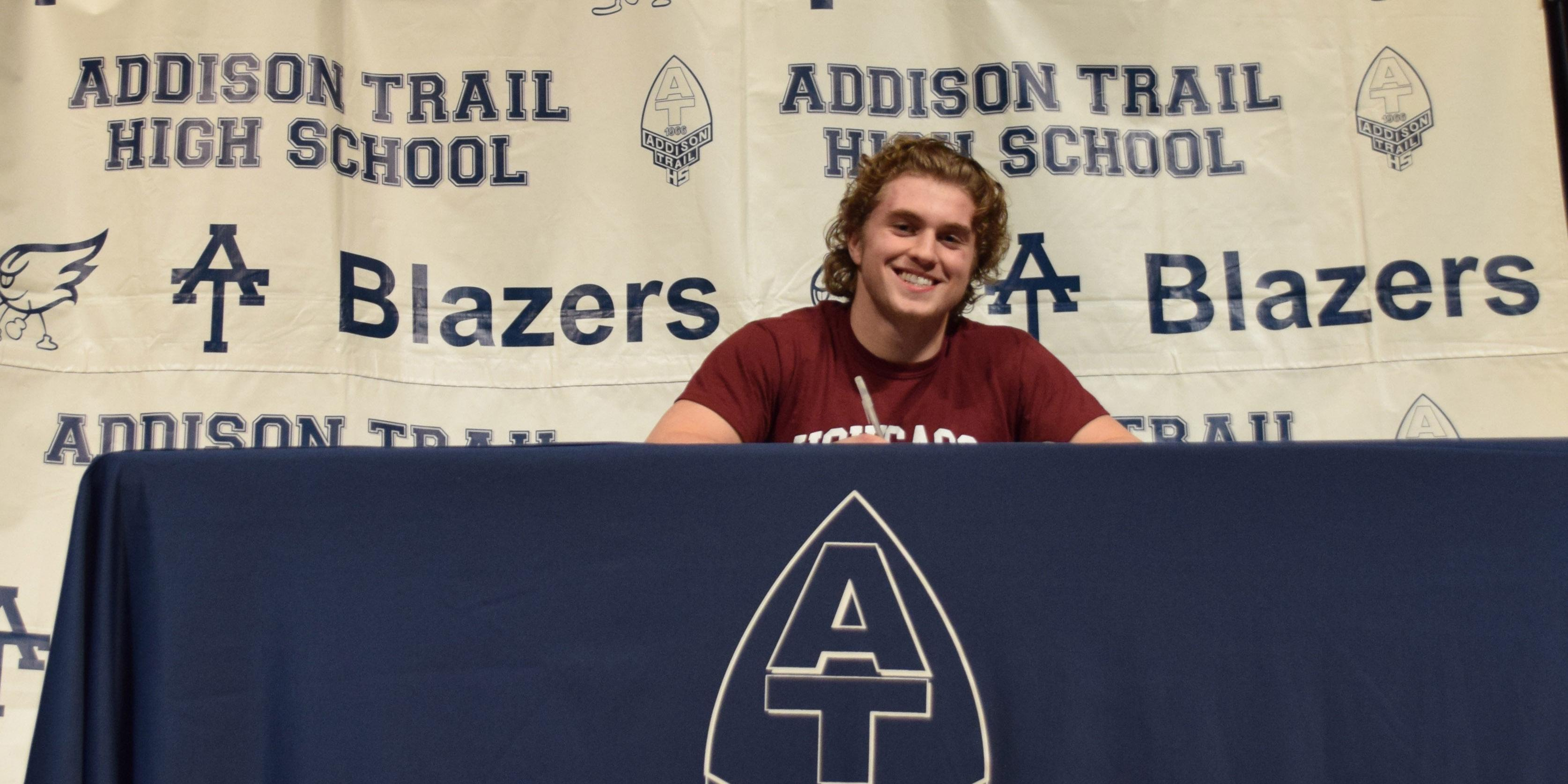 Addison Trail senior signs to play football at The University of Chicago