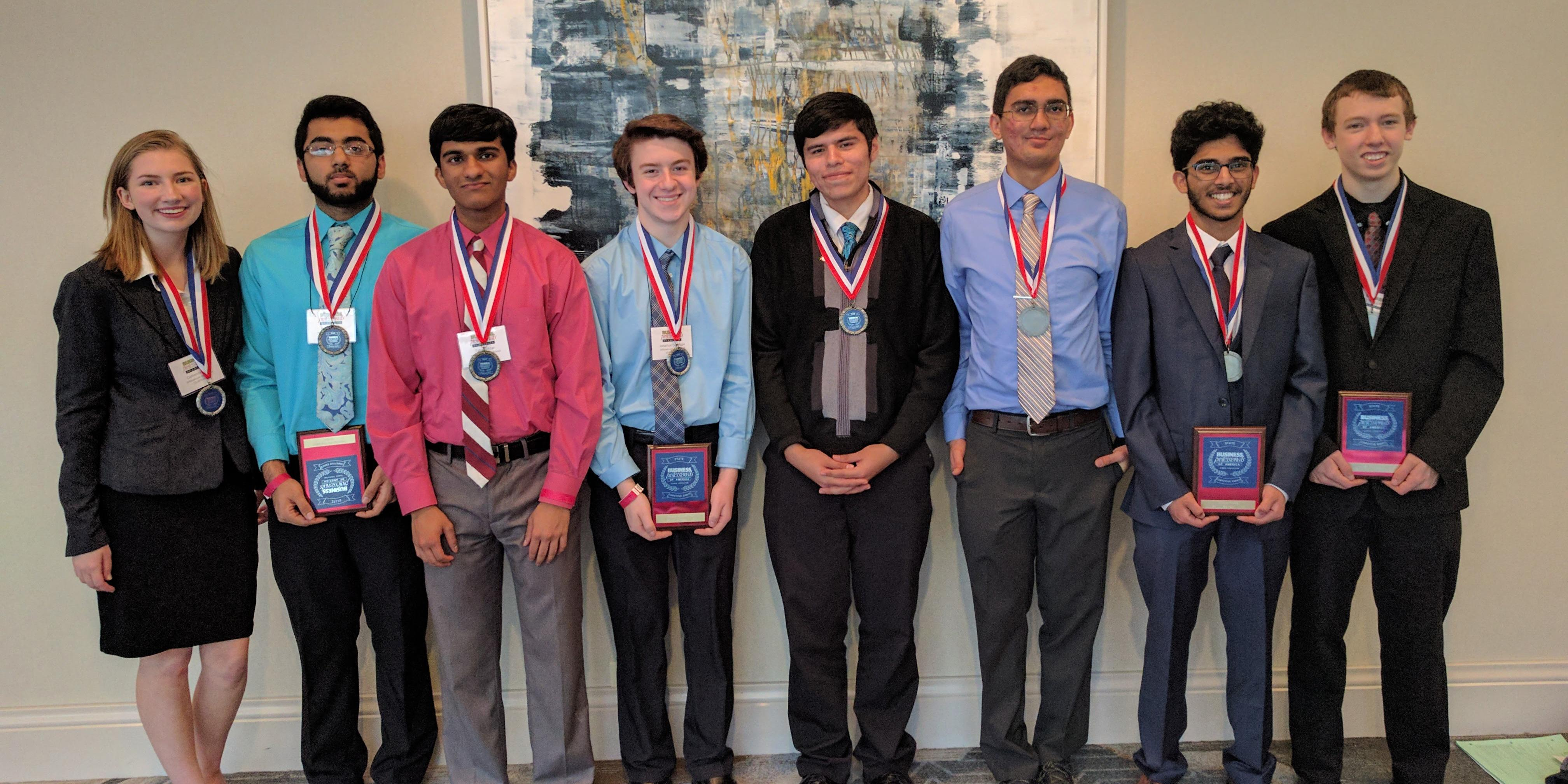 Six Willowbrook students qualify for 2017 BPA National Leadership Conference
