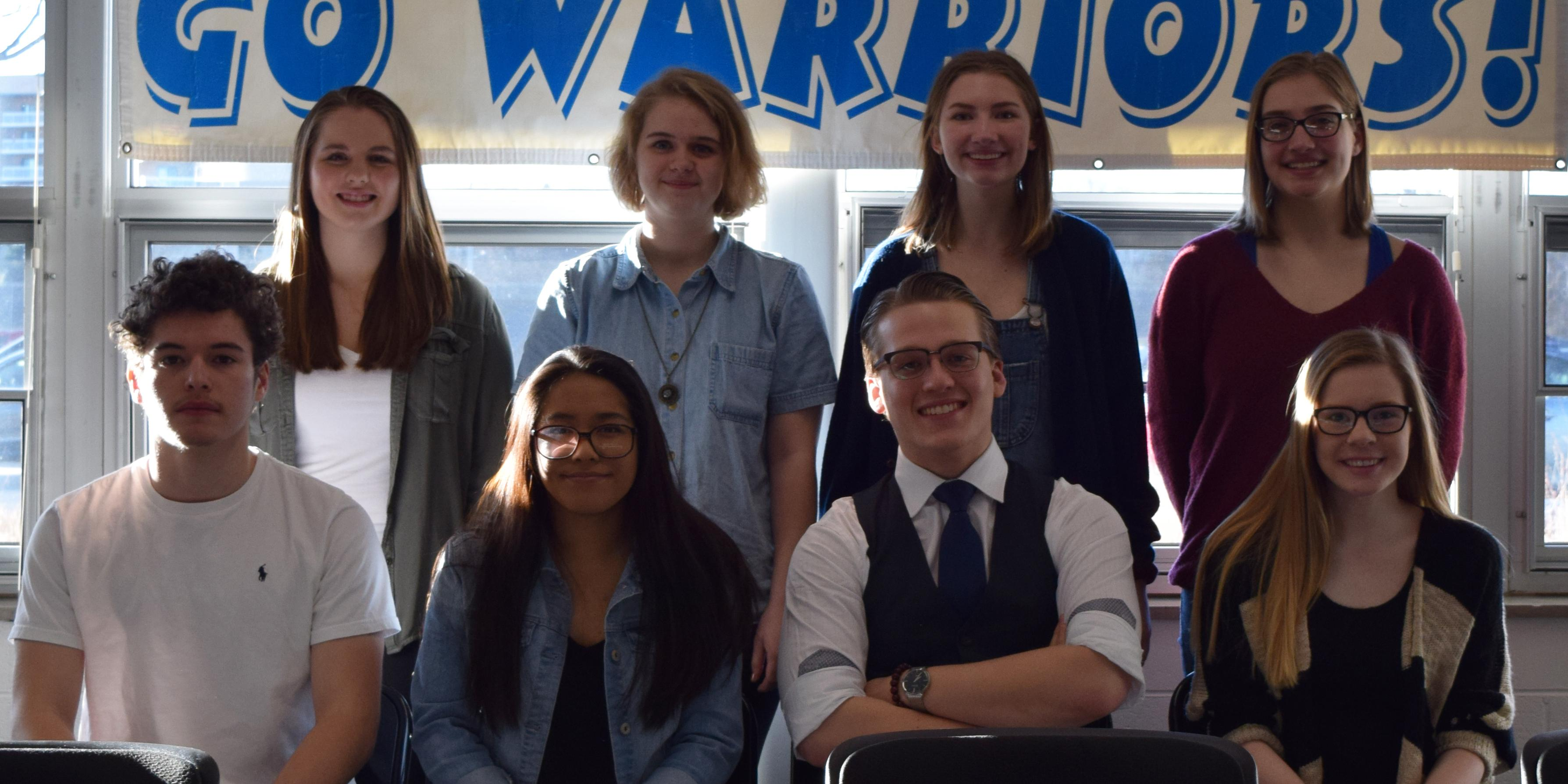 Willowbrook hosts State send-off celebration for 11 members of the DECA Team