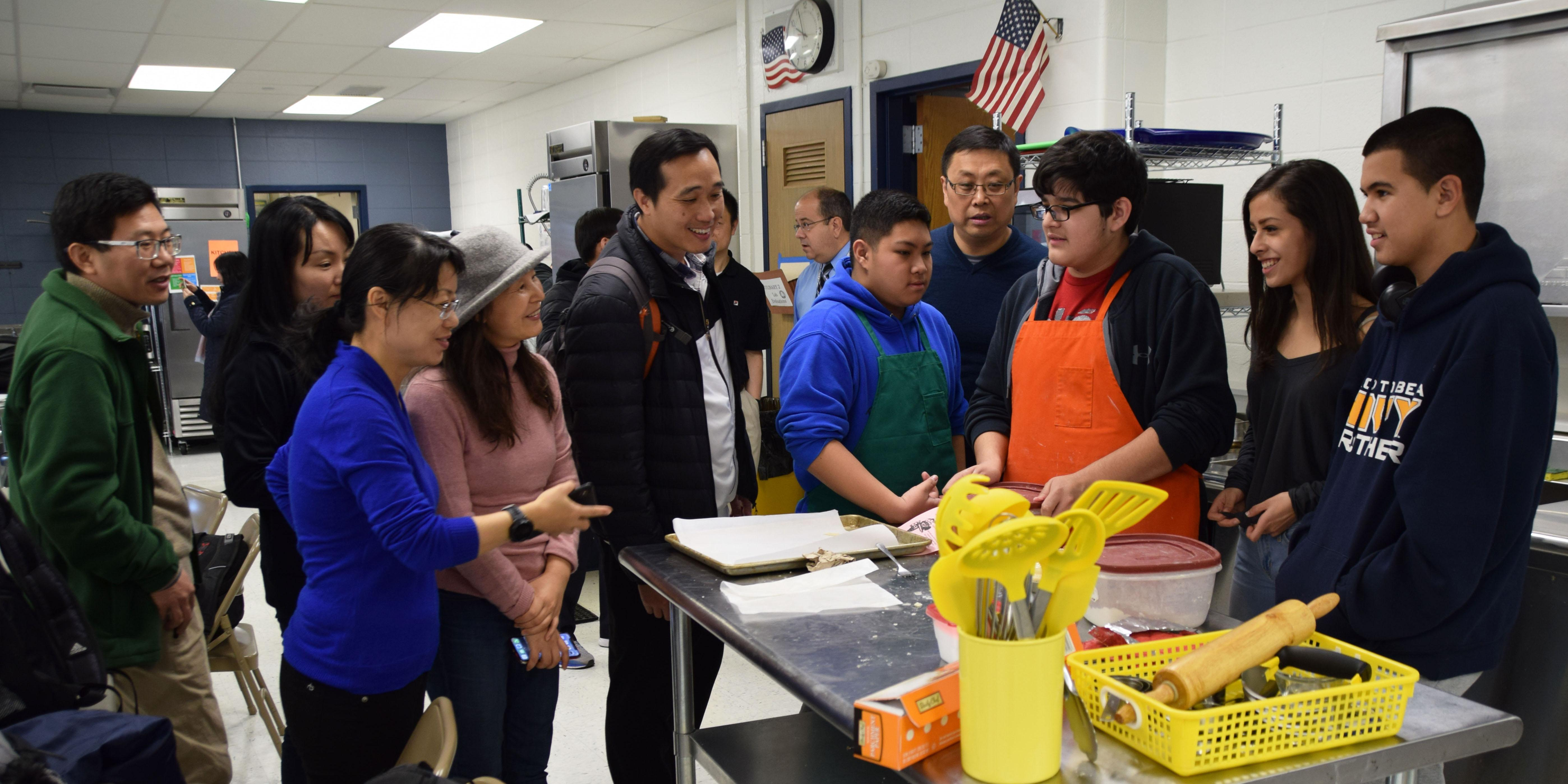 District 88 welcomes delegates from China