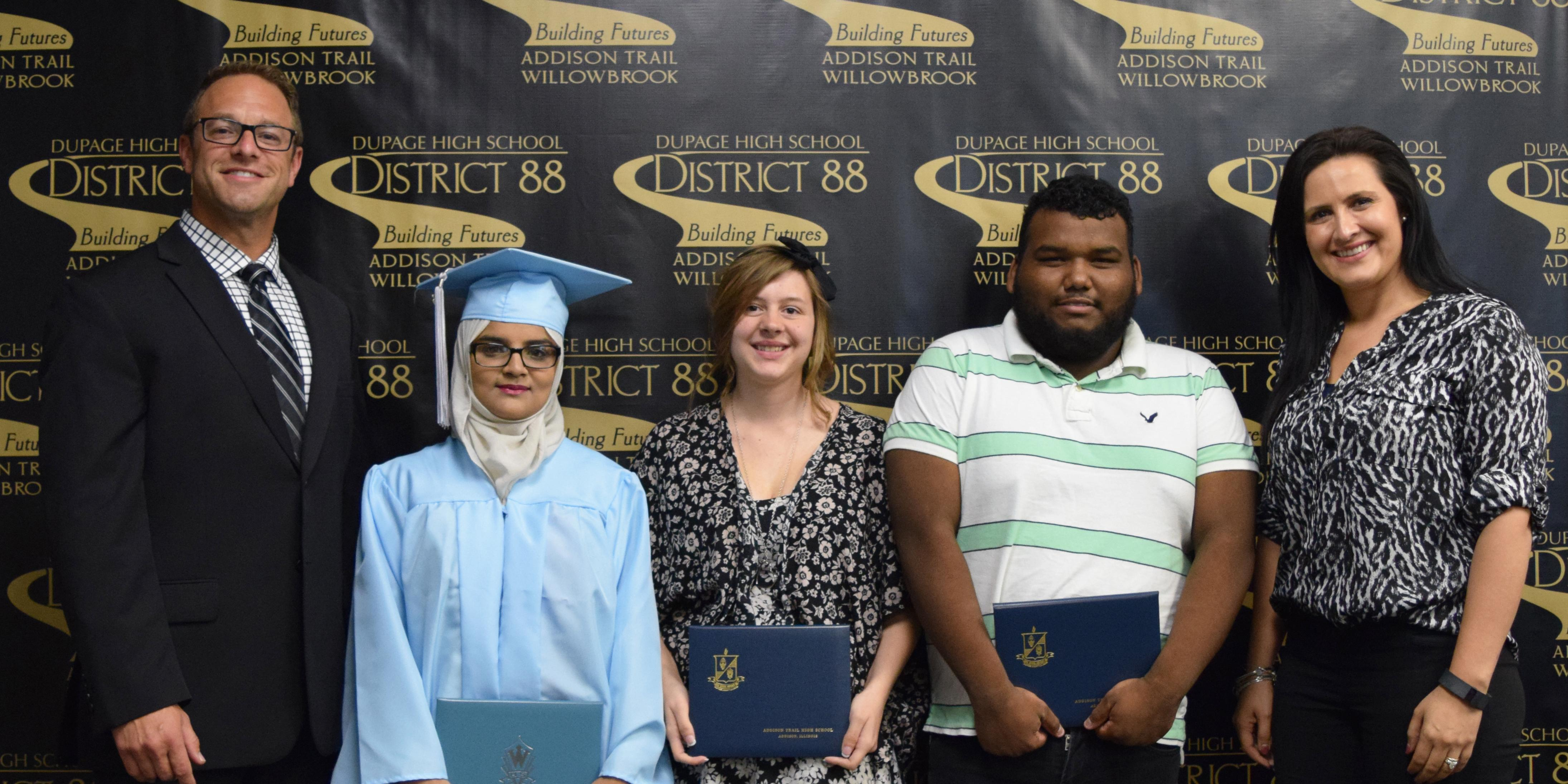 District 88 Board of Education celebrates Summer Commencement 2016