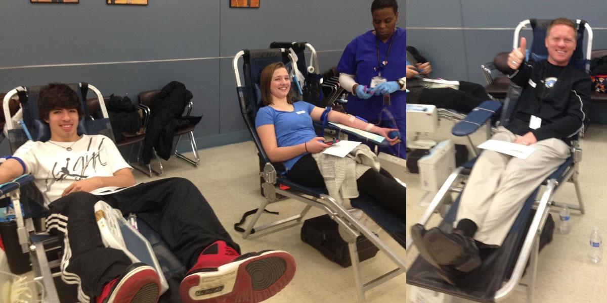 District 88 students and staff give back through blood drives
