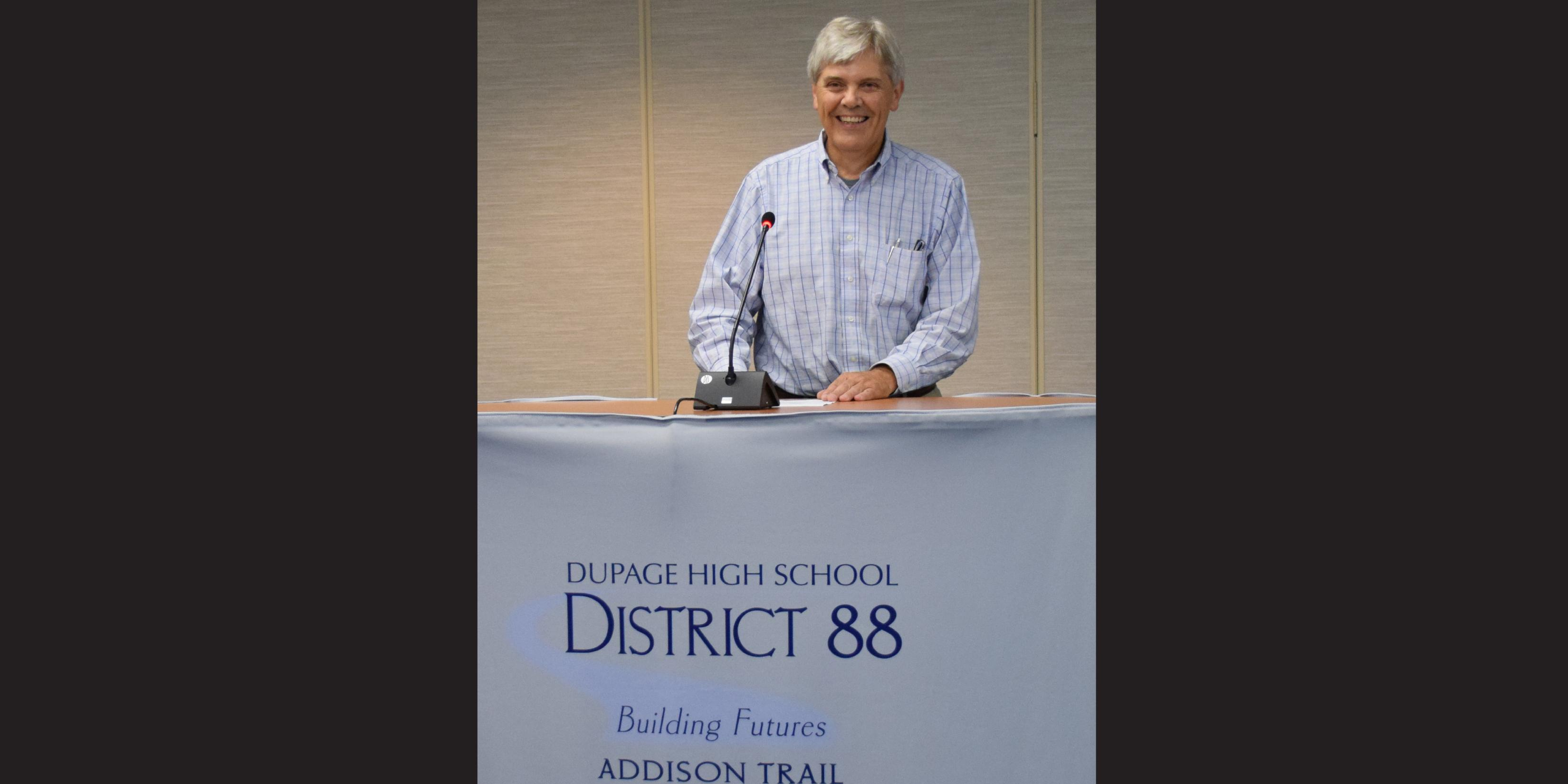 District 88 Board of Education appoints new Board member