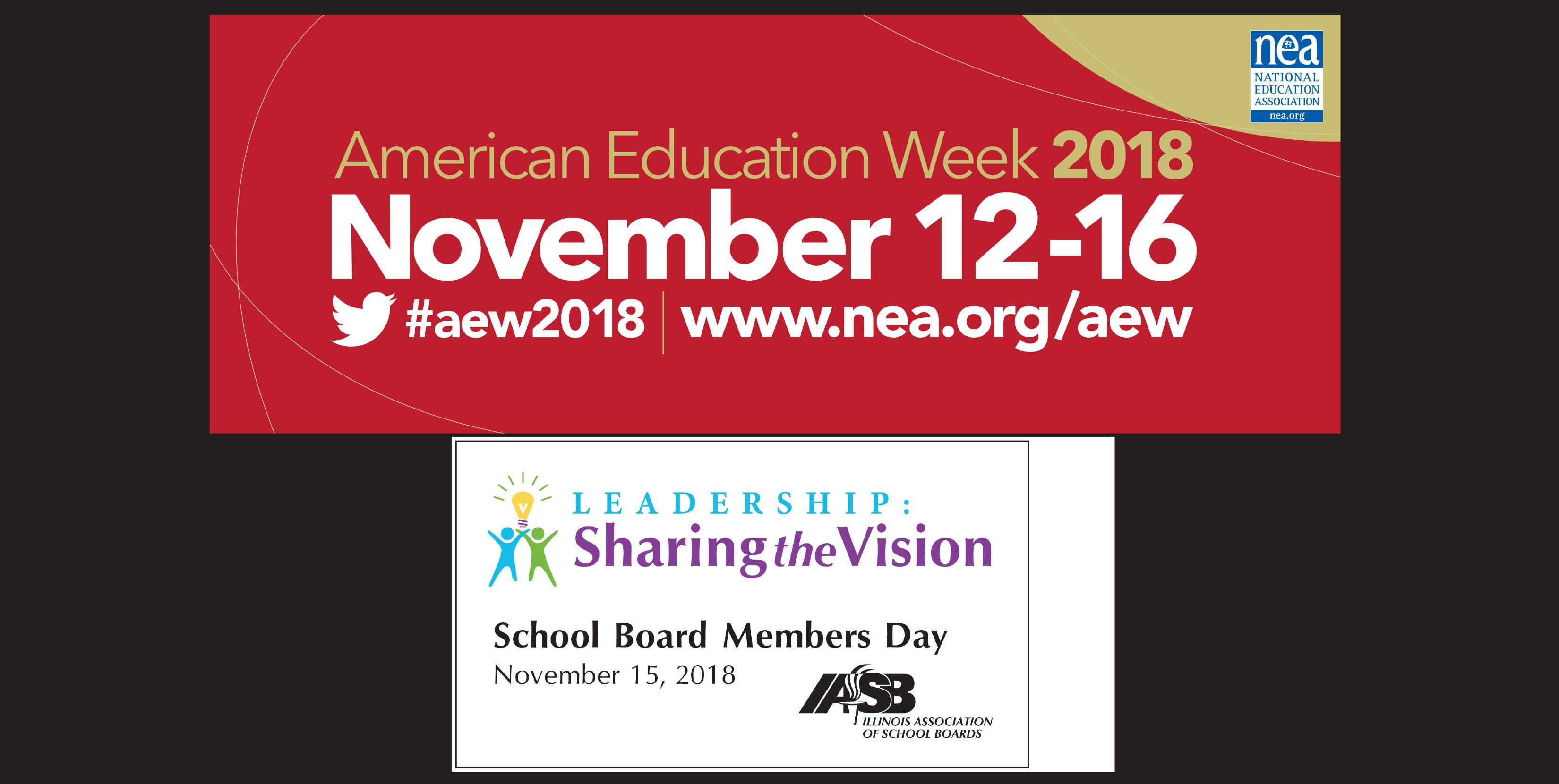 District 88 celebrates School Board Members Day and American Education Week