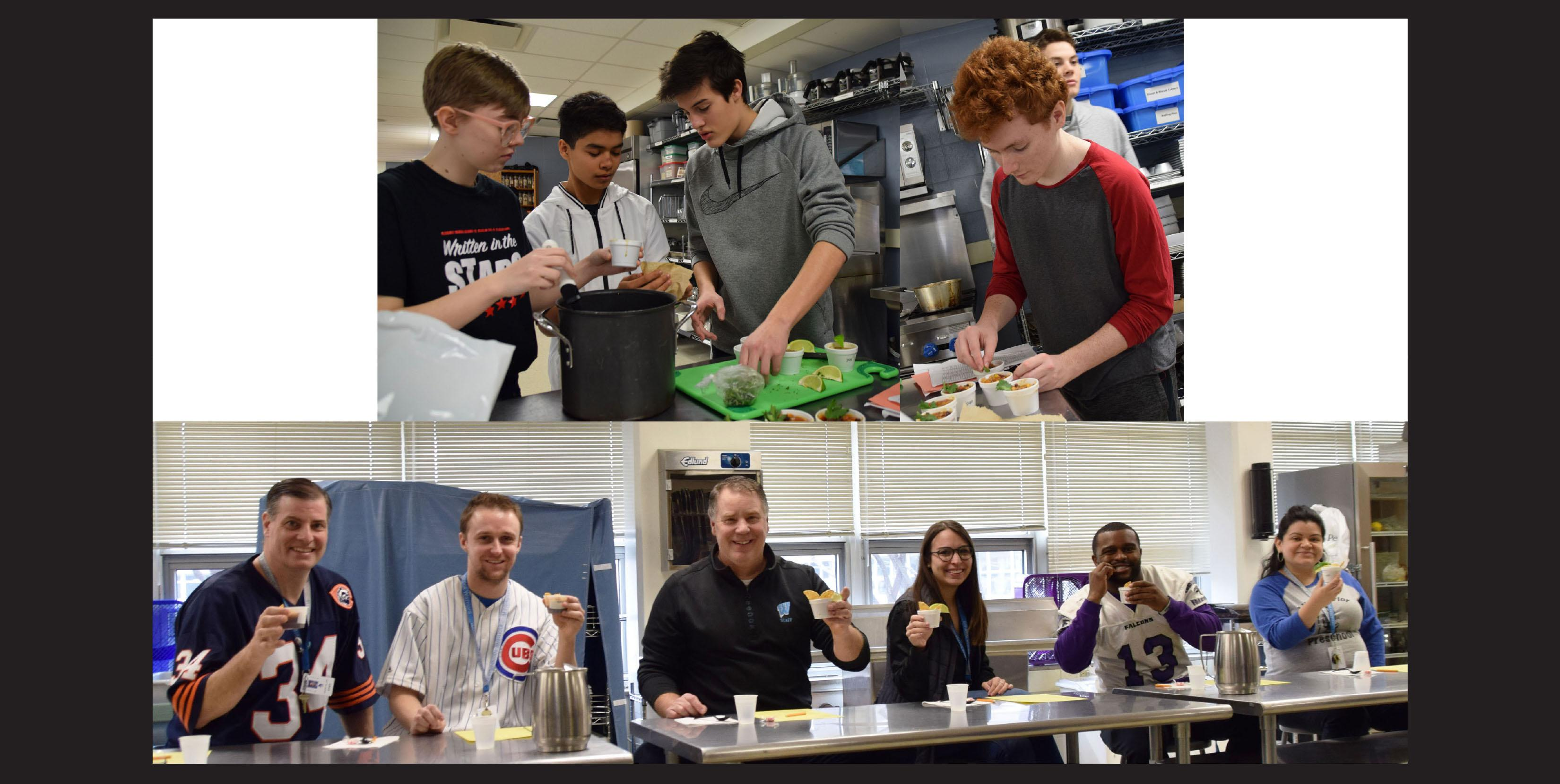 Willowbrook students compete in Chili Cook-Off