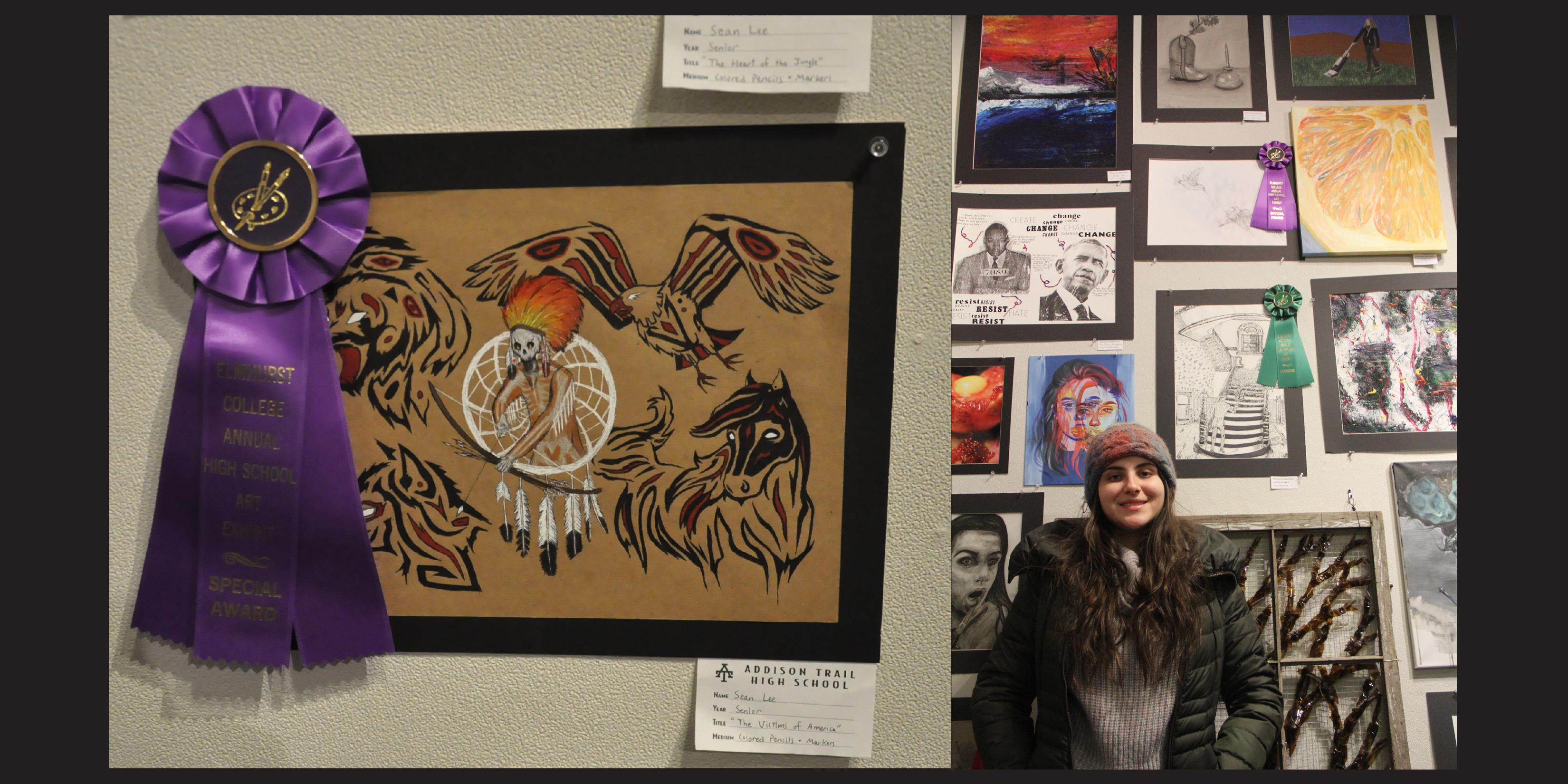 District 88 students win awards at Elmhurst College's 19th Annual High School Art Exhibition
