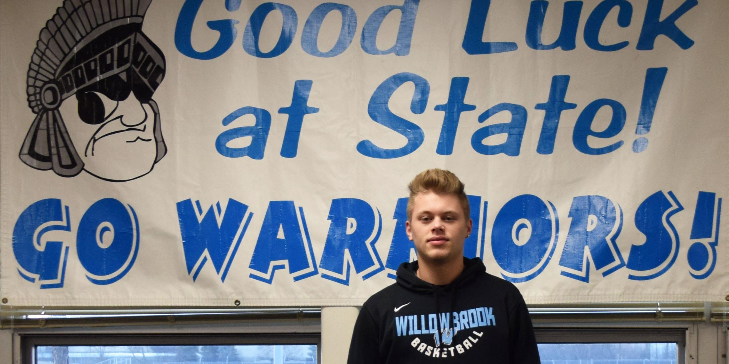 Willowbrook hosts State send-off celebration for member of Boys Basketball Team