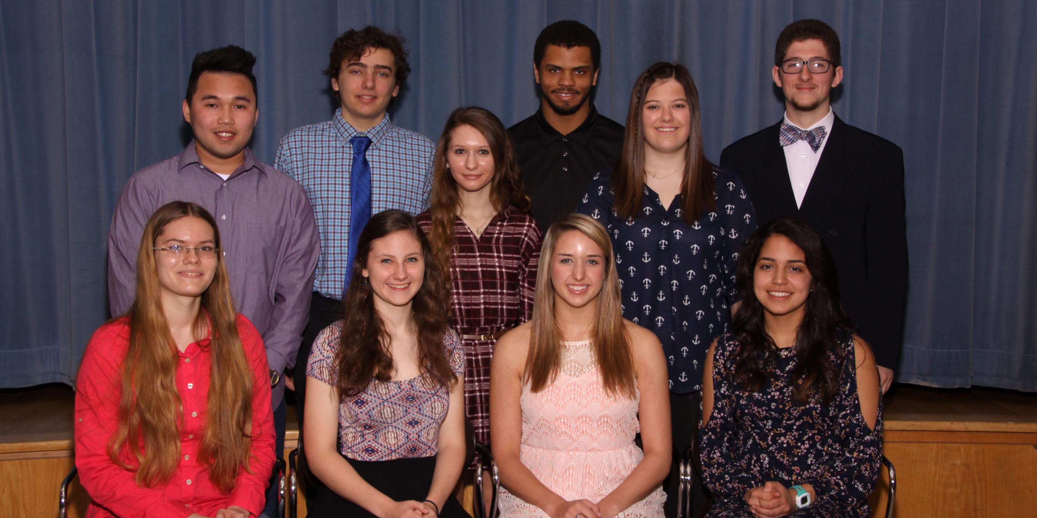 Willowbrook presents Outstanding Students and Outstanding Teacher awards