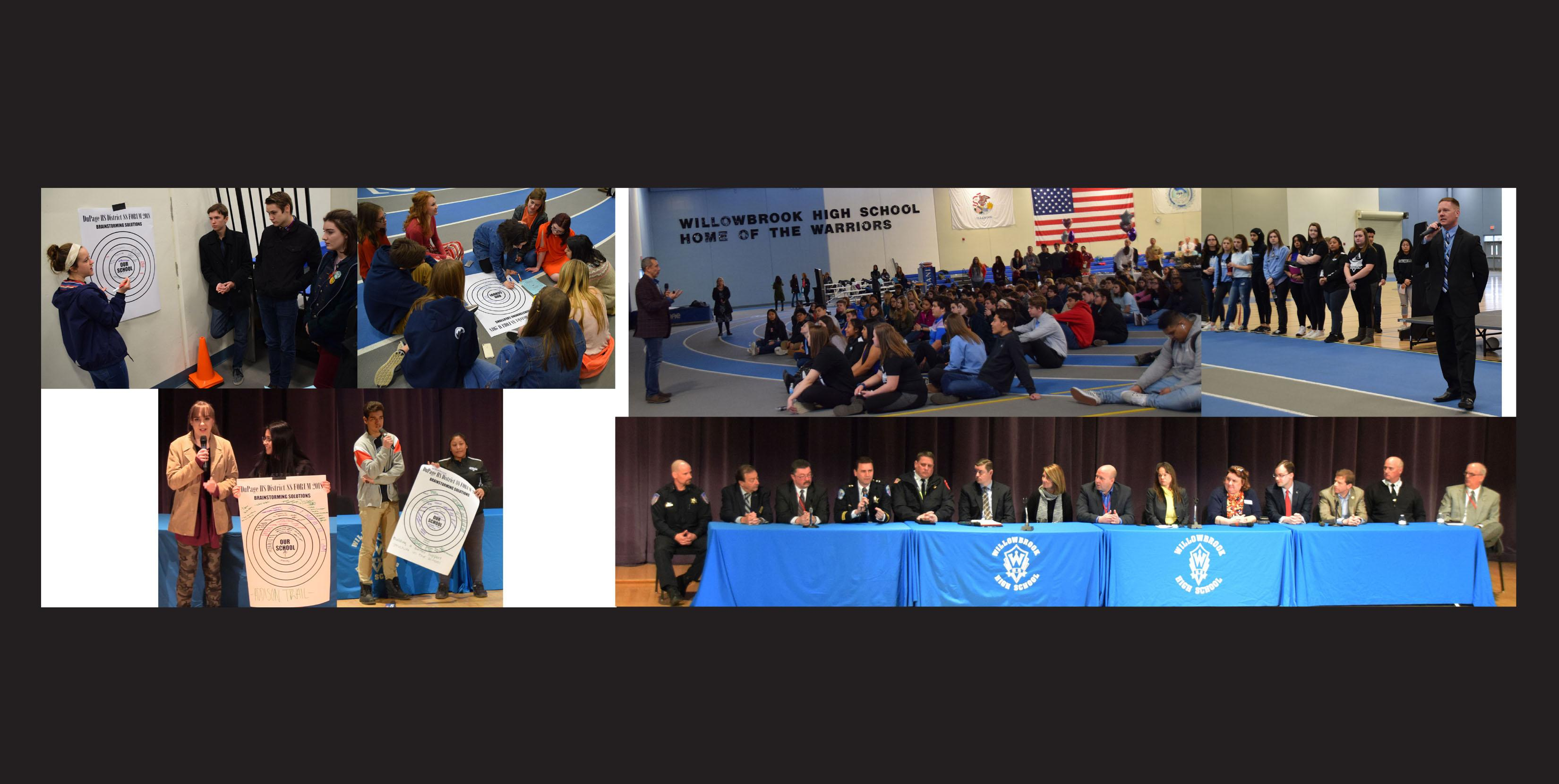 District 88 hosts School Safety Forum with student leaders from 28 Chicago-area schools