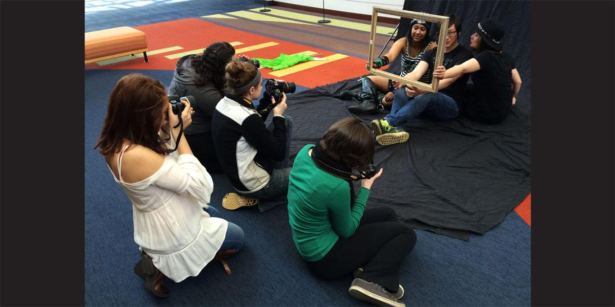 Willowbrook photography students prepare for College of DuPage showcase