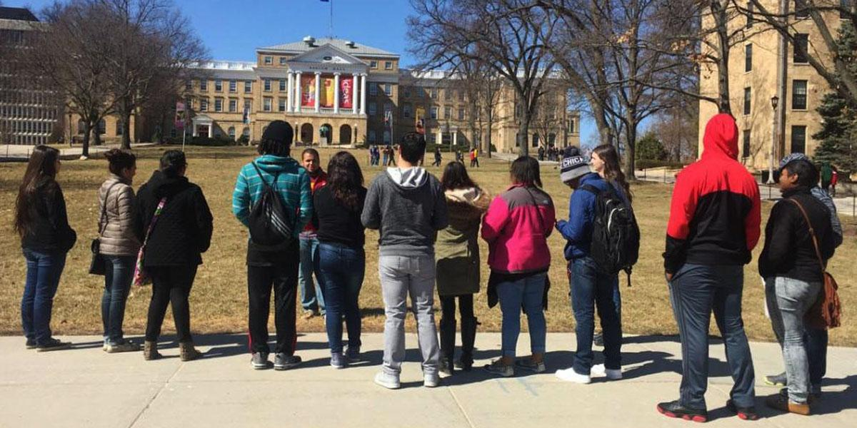Willowbrook students visit University of Wisconsin-Madison
