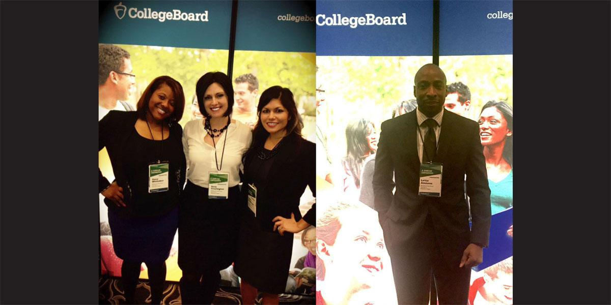 Willowbrook staff members present at College Board Conference