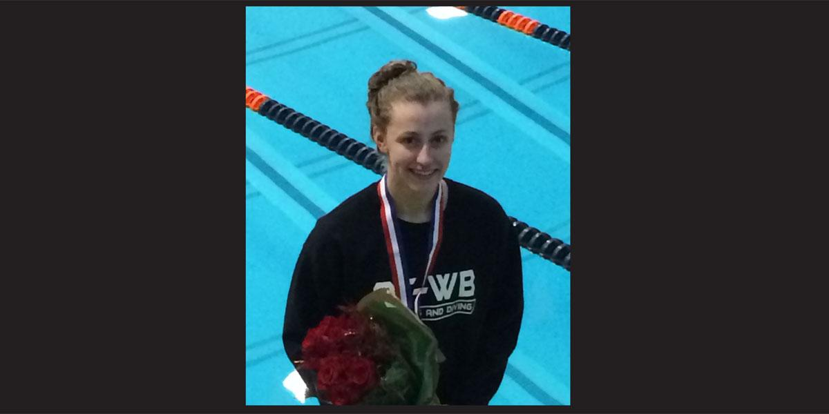 Willowbrook senior wins title in IHSA Girls Swimming & Diving State meet