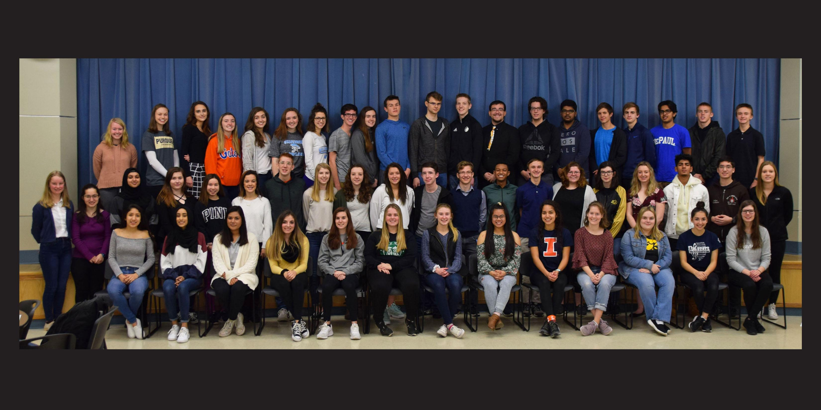 Willowbrook students designated as 2019-20 State Scholars