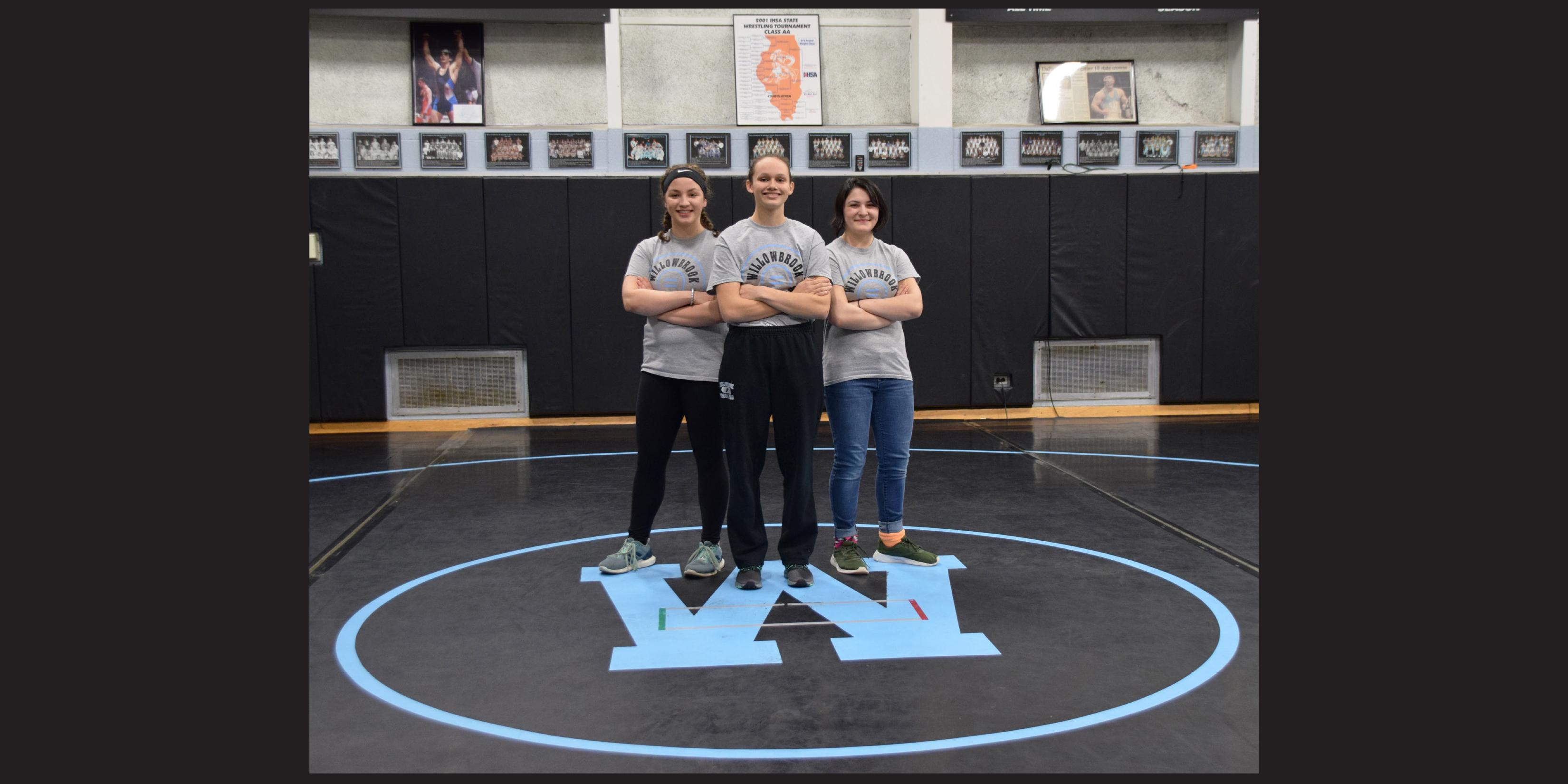 Opening doors: Three Willowbrook student-athletes pave the way for girls wrestling