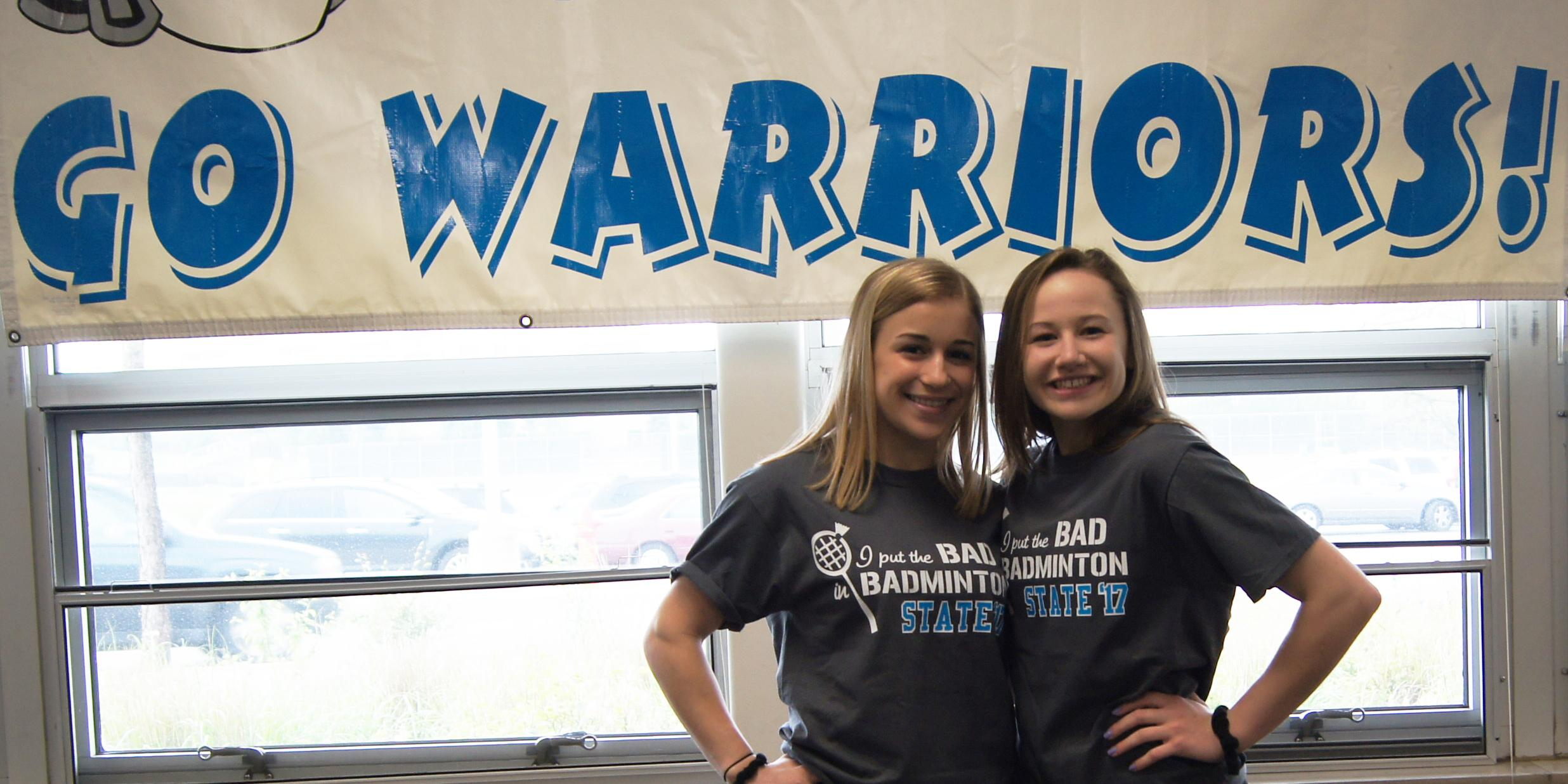 Willowbrook hosts State send-off celebration for two members of Girls Badminton Team