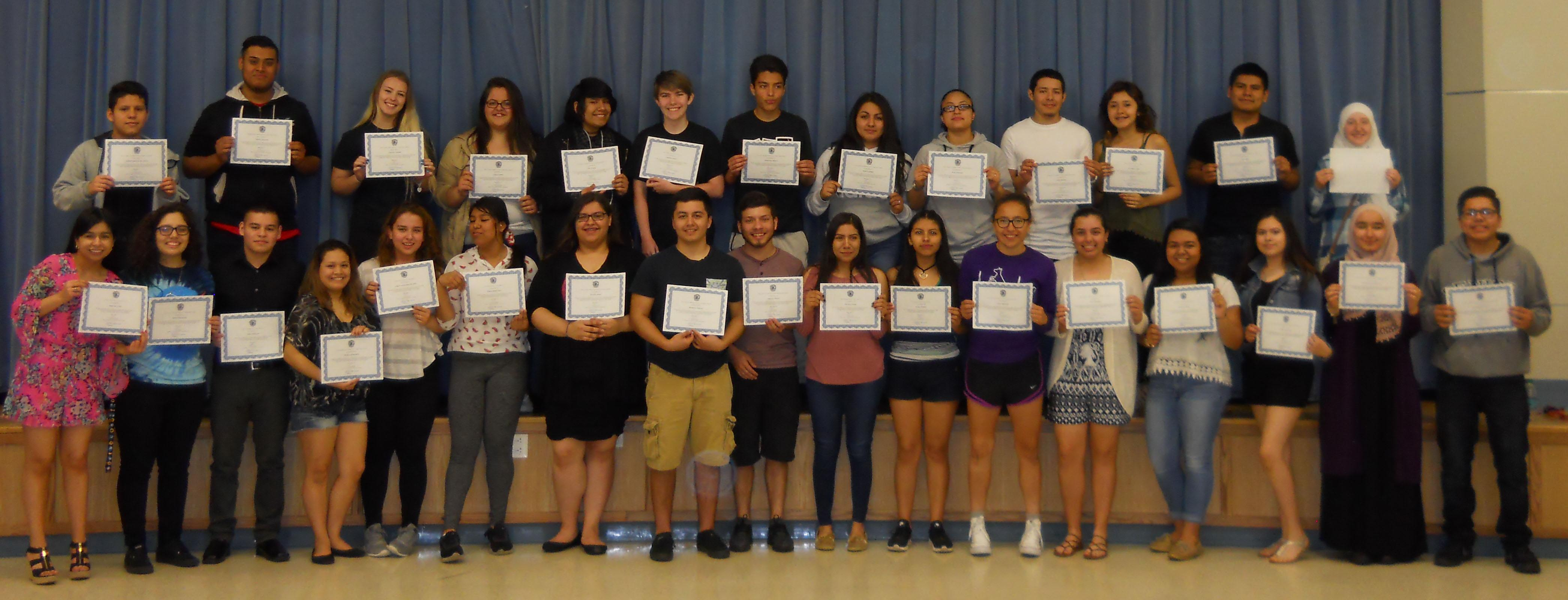 Willowbrook students earn state-level world language recognition