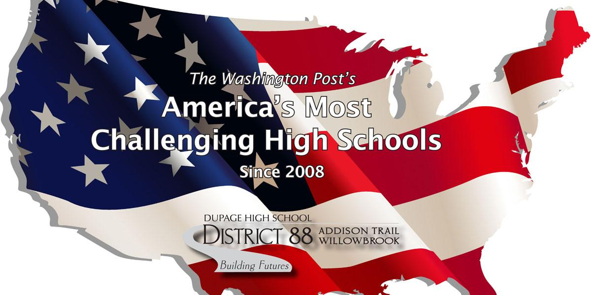 Addison Trail and Willowbrook named two of 'America's Most Challenging High Schools' by The Washington Post