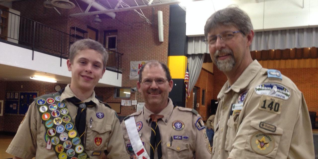 Willowbrook junior earns Eagle Scout status