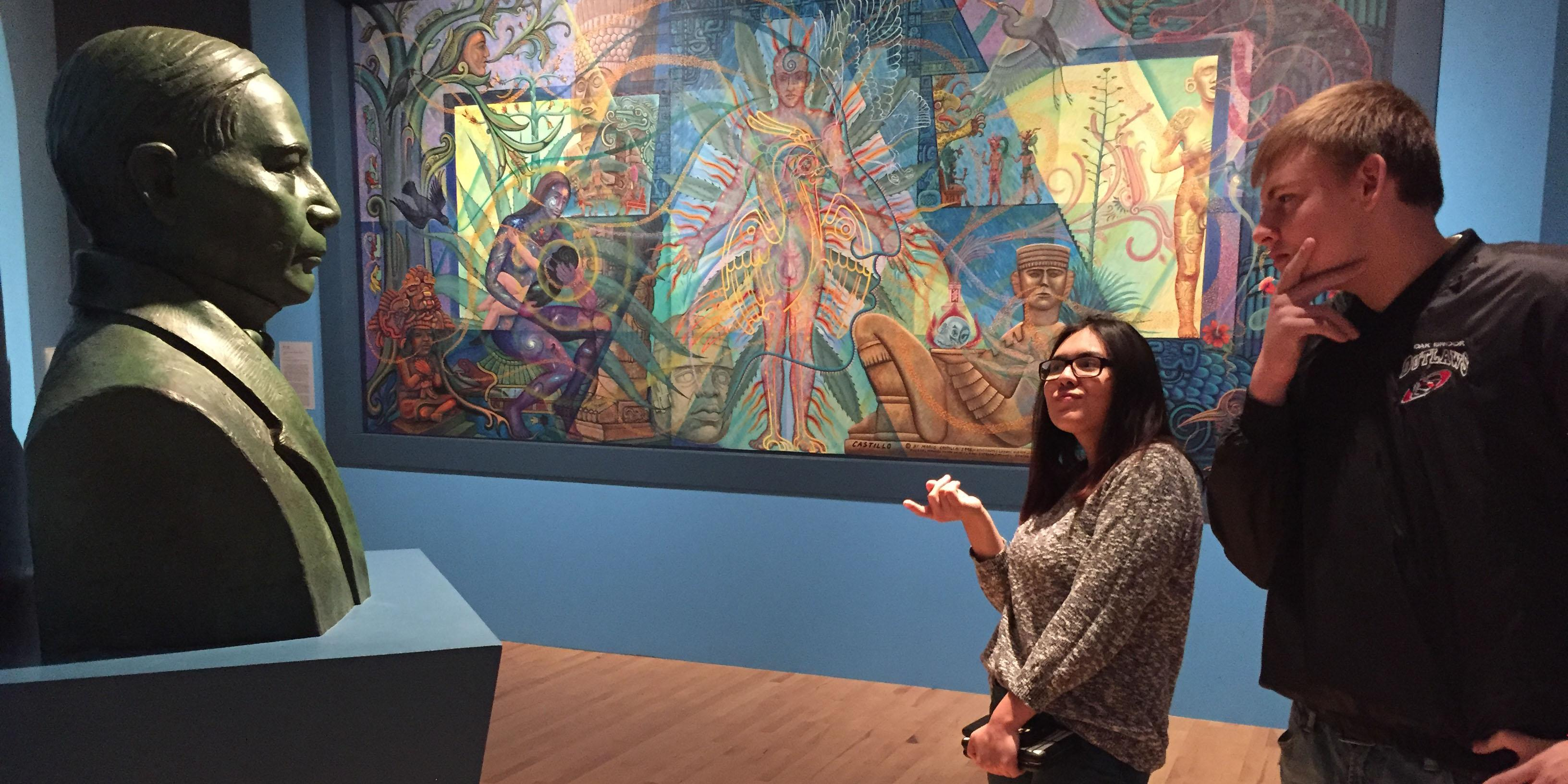 Willowbrook students visit National Museum of Mexican Art to bring classroom lessons to life