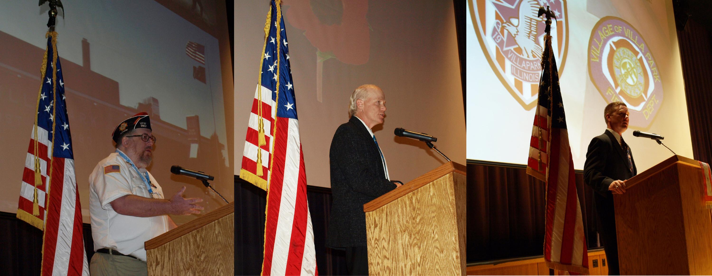 District 88 honors veterans through Veterans Day events